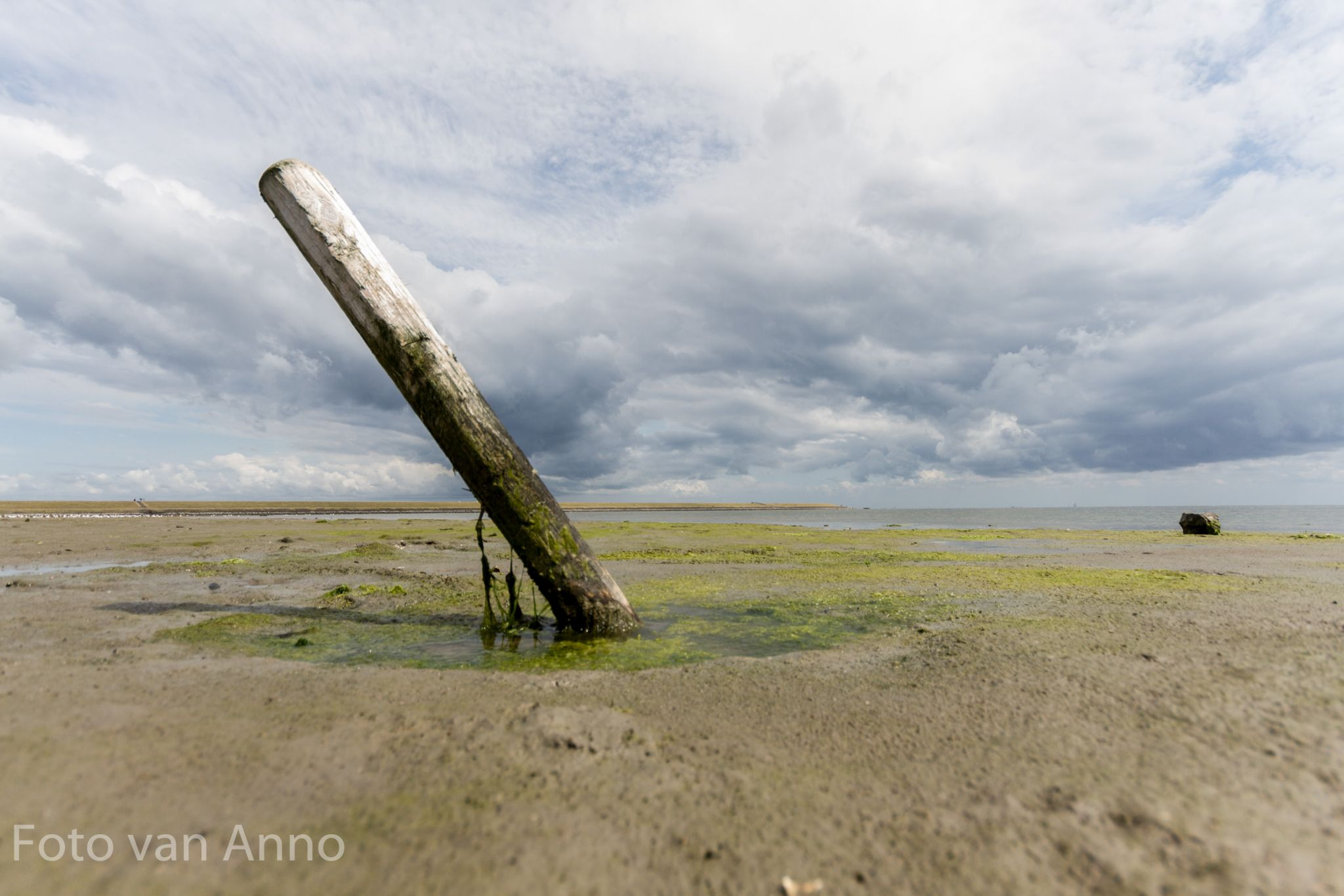 Waddensea with great clouds by smitjets