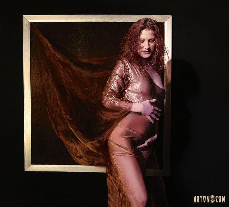Framed by Arton