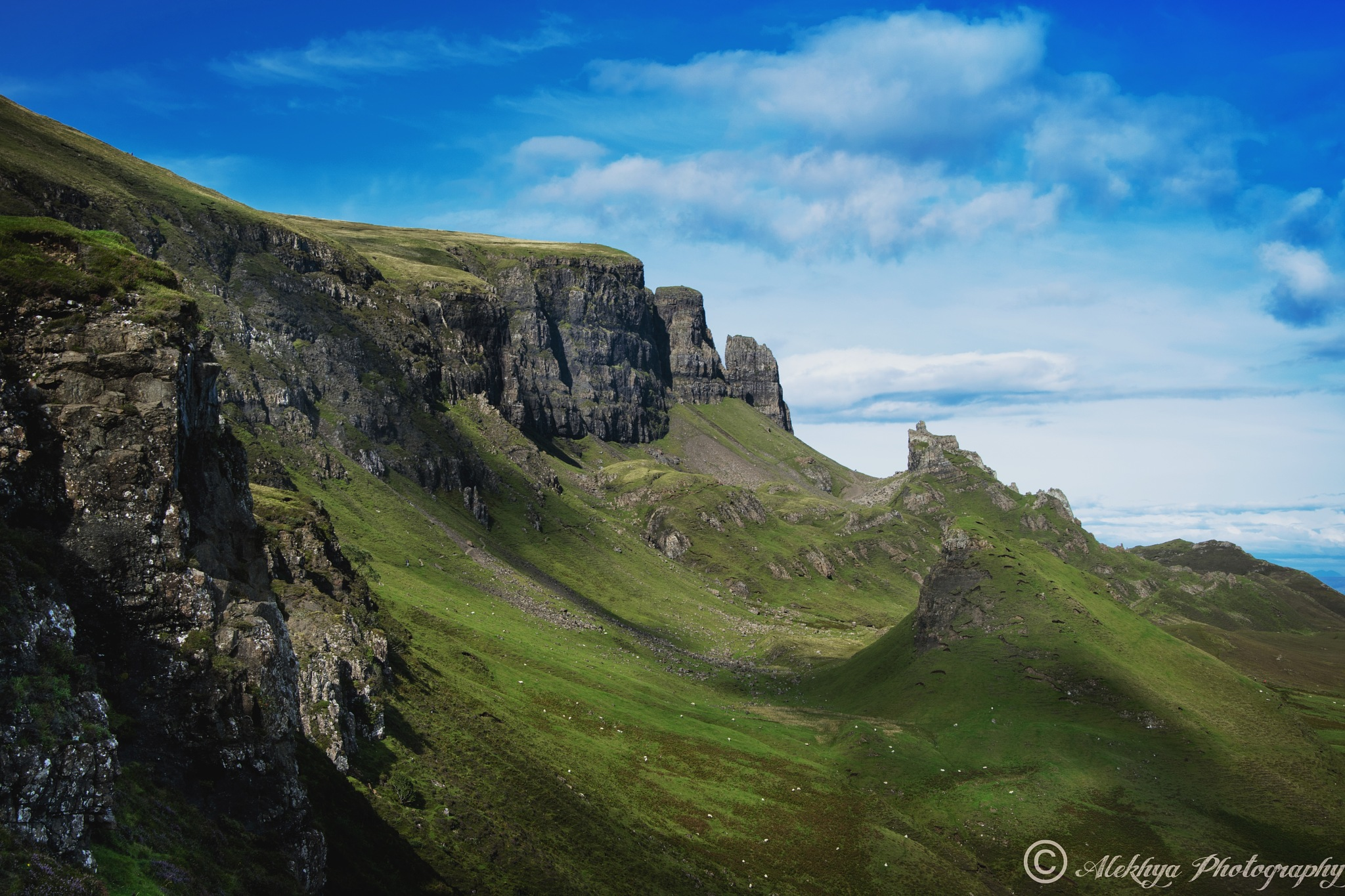 Standing Cliffs of Quiraing by Alekhya Photography