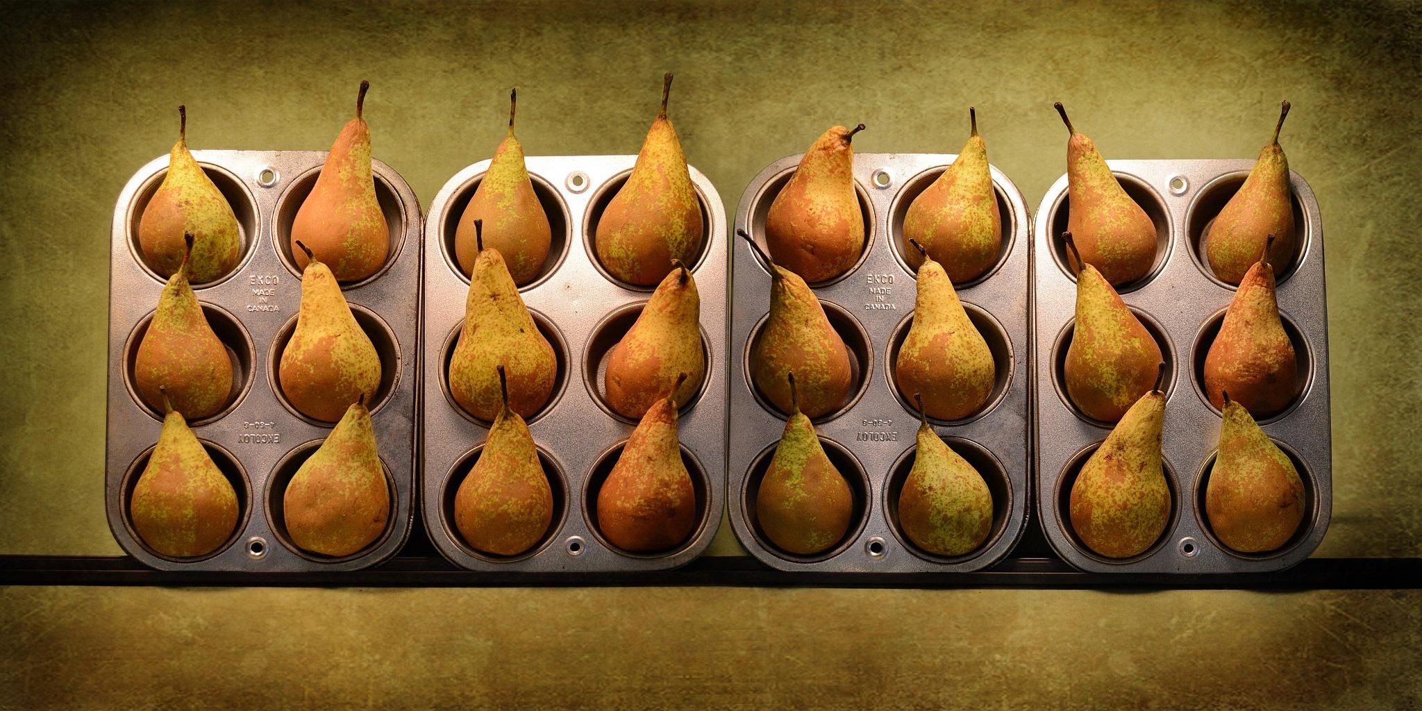 Twelve Pairs, Twenty-Four Pears by Paul Wullum