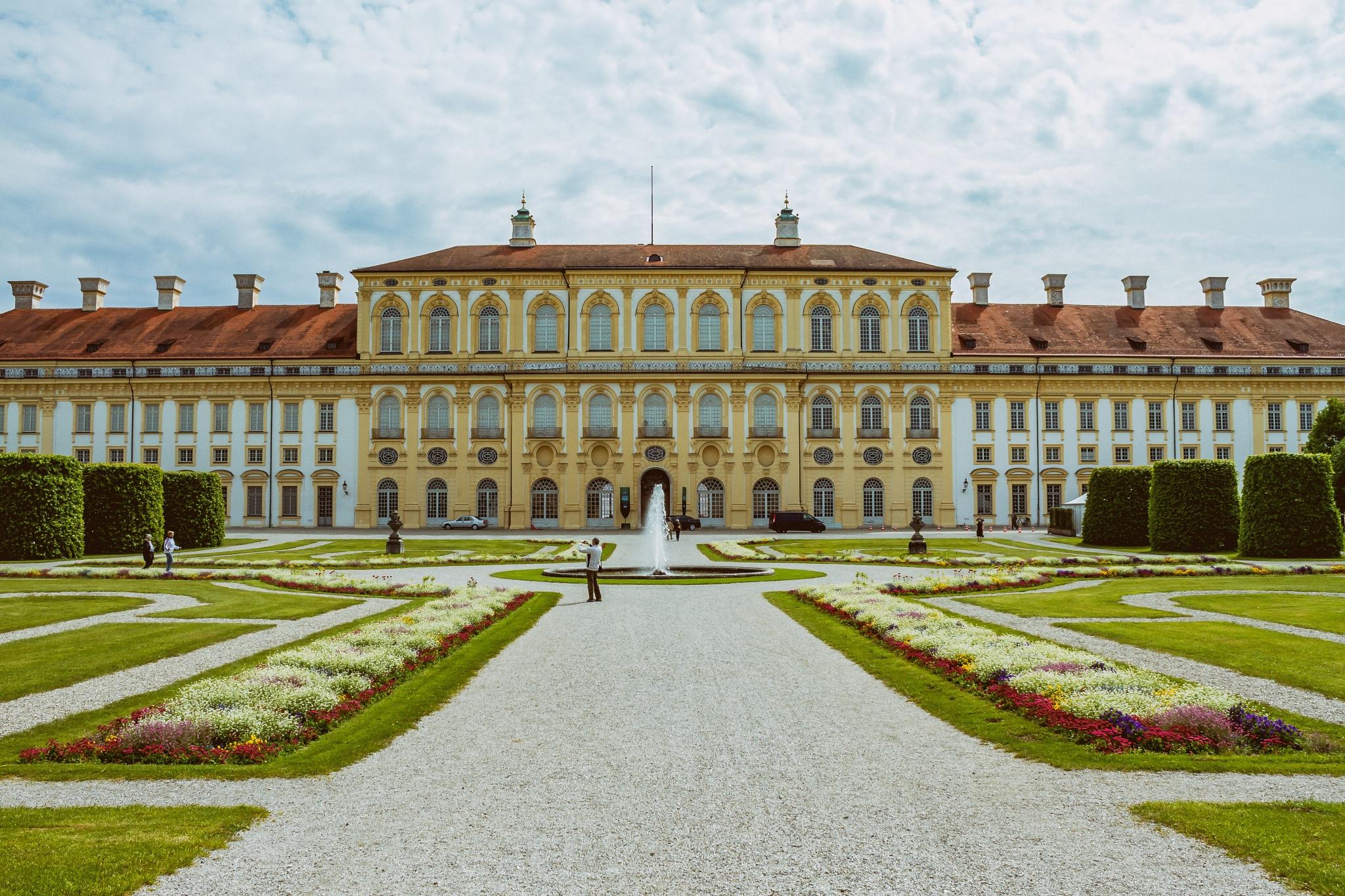 Schloss Schleißheim by wolfgang poignee