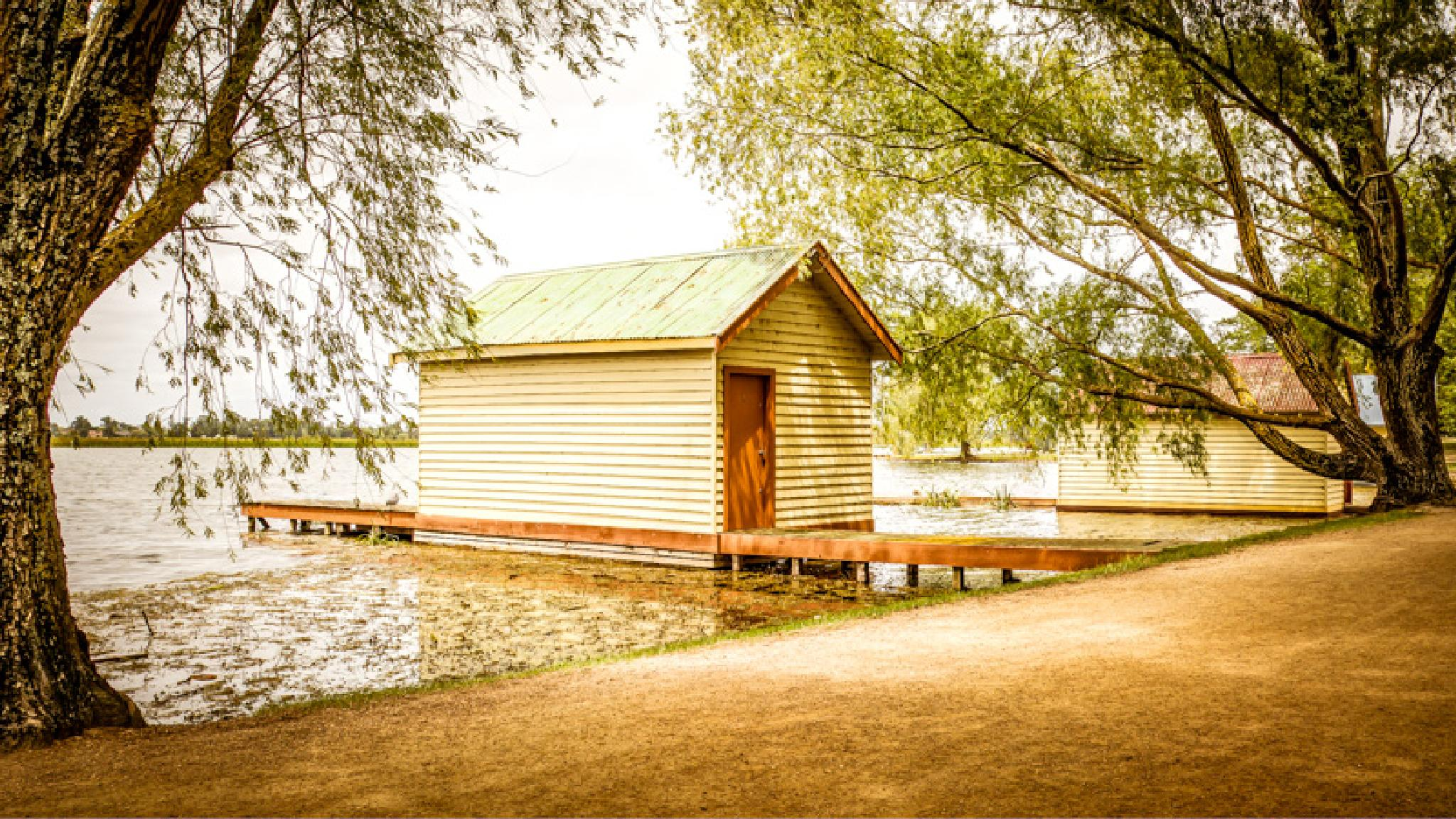 Boathouse by Tony Buckley Photography