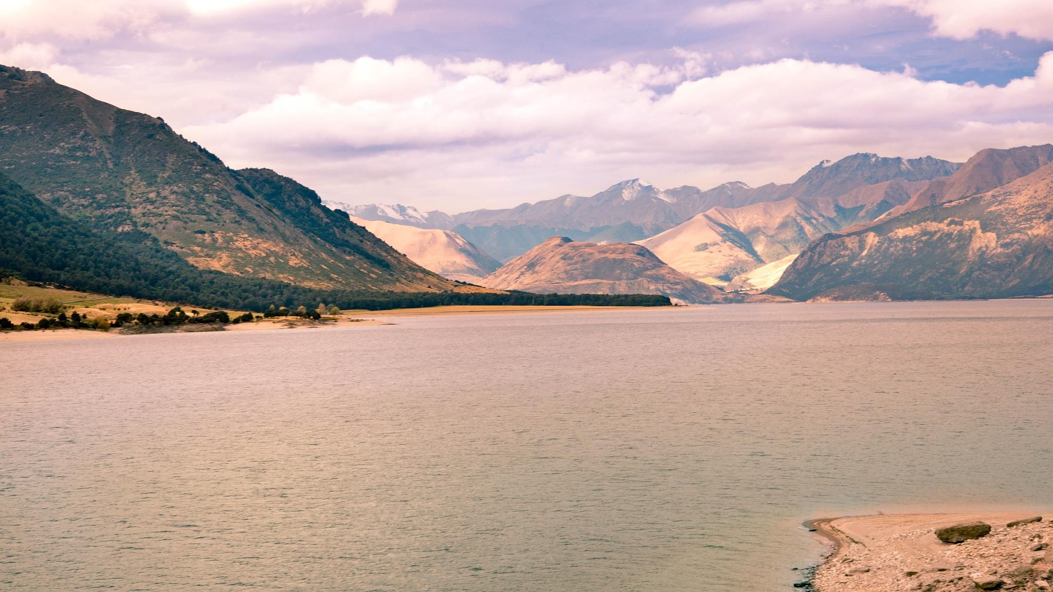 Across The Lake by Tony Buckley