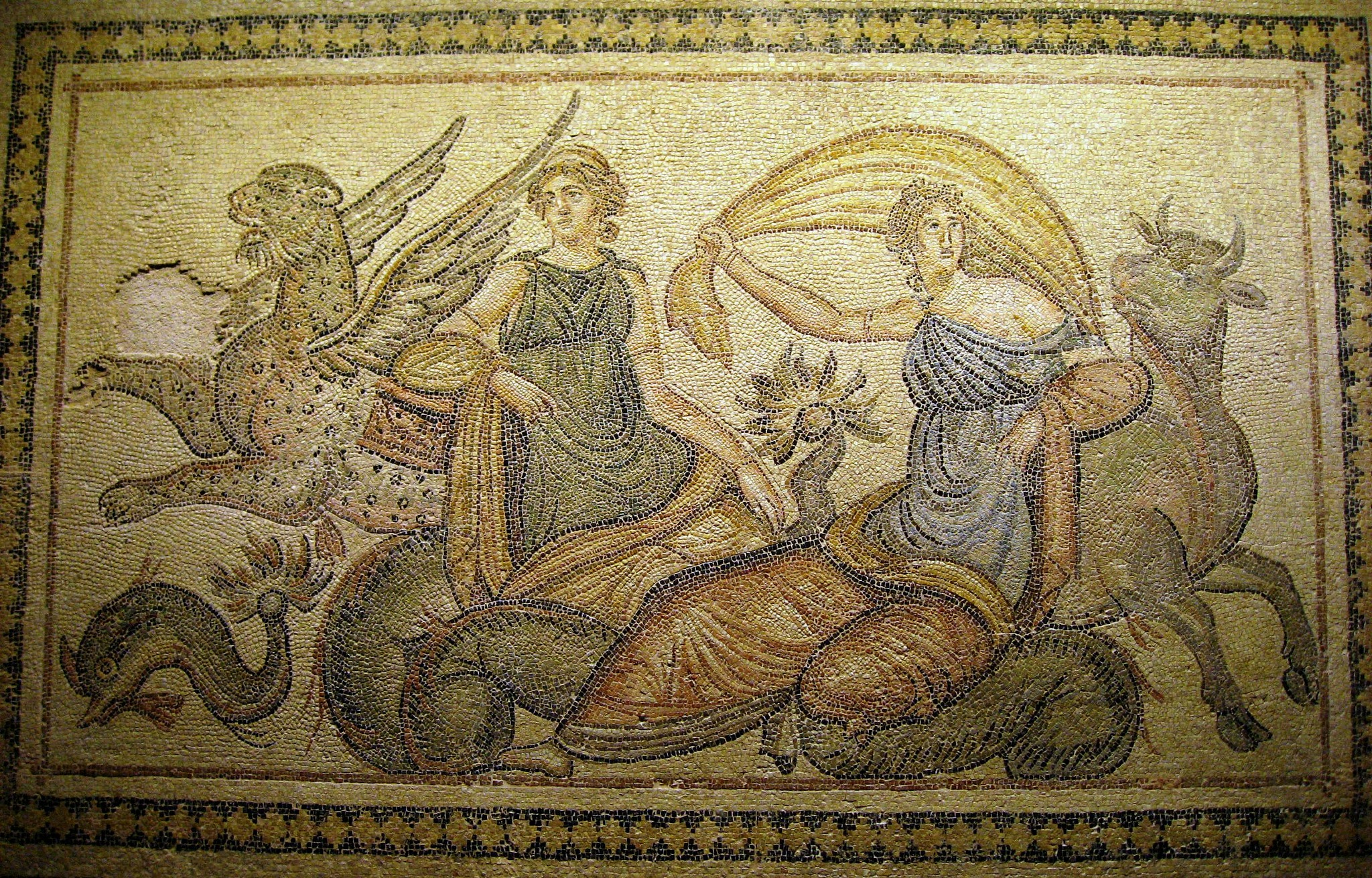 Mosaics from the southeast Anatolian Roman town of Zeugma by Ron Margulies