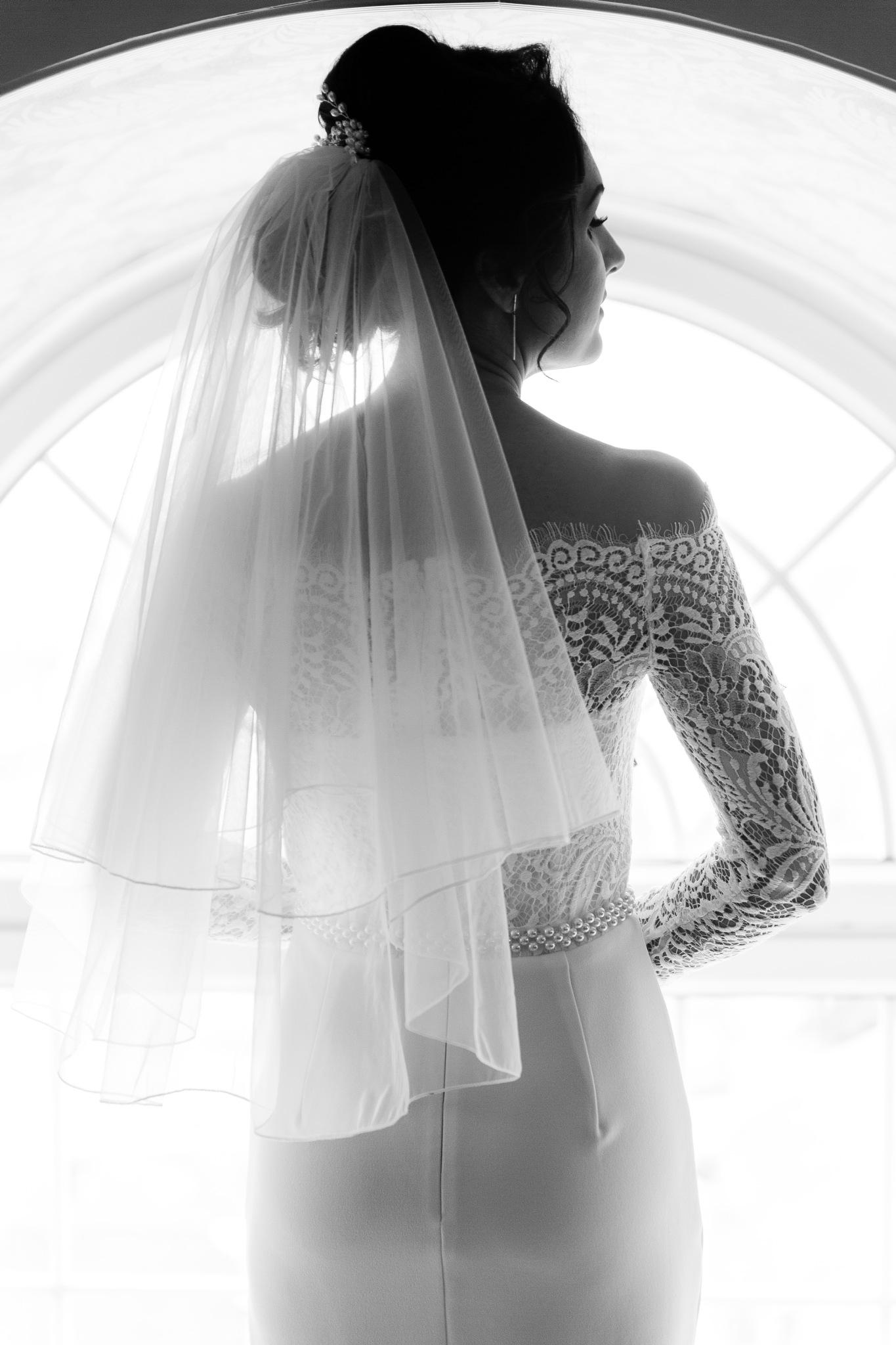 Backlit Bride by Paul Heathcote