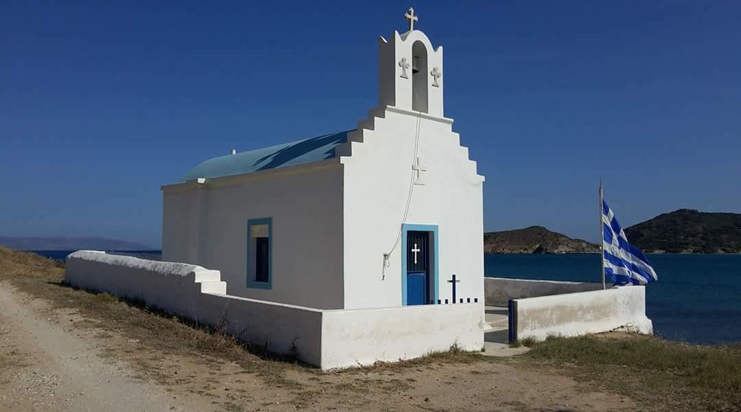Little Chuch on Paros - Greece by Ilse Peters