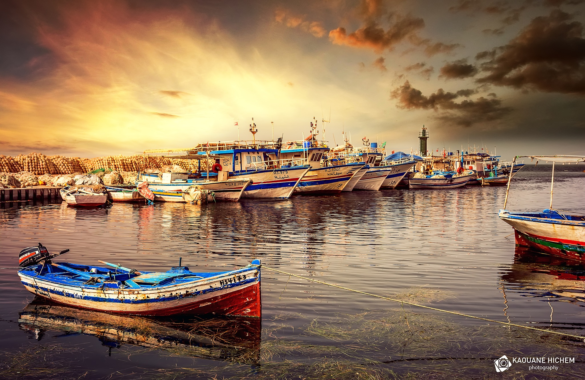 Fishing harbor by Kaouane Hichem
