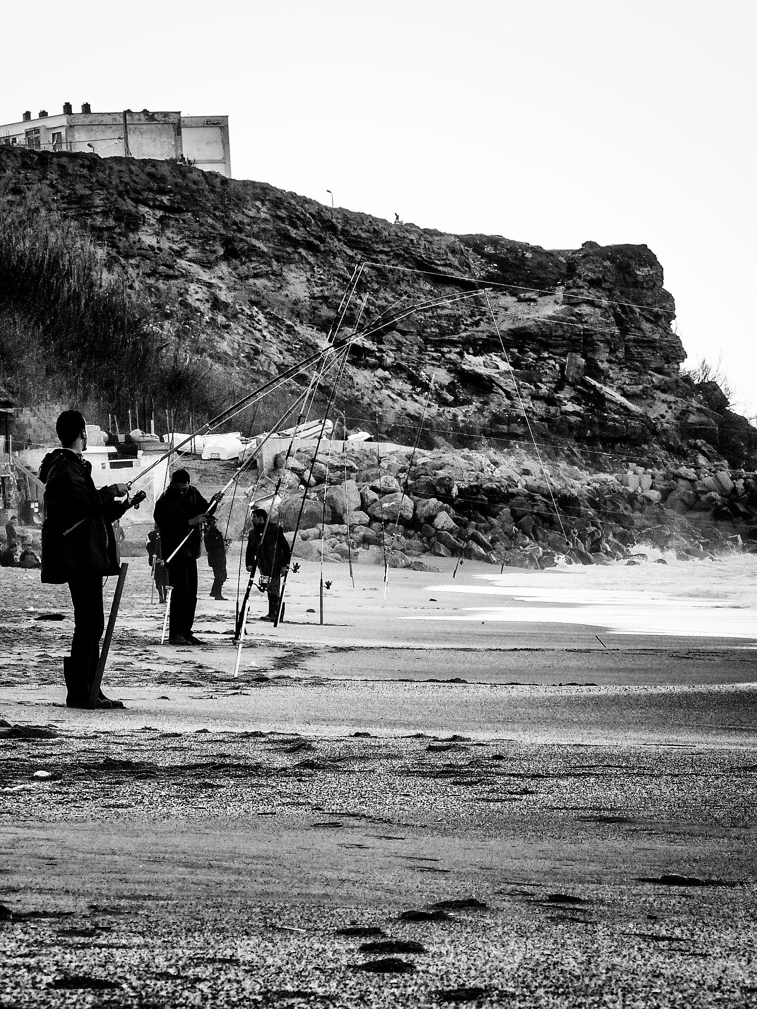 Fishing hobby by Habit Touche'Art