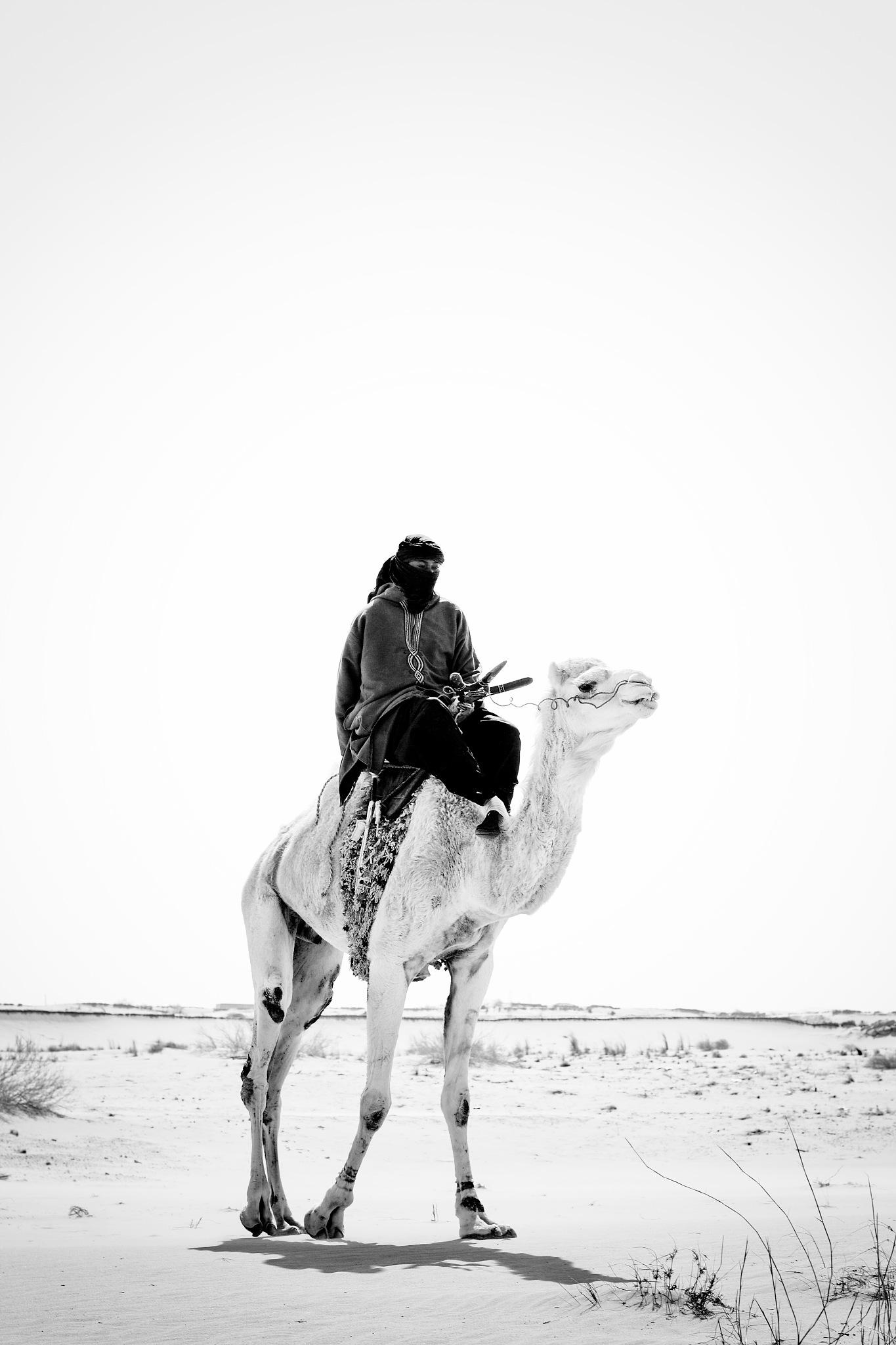 the man of desert by Habit Touche'Art