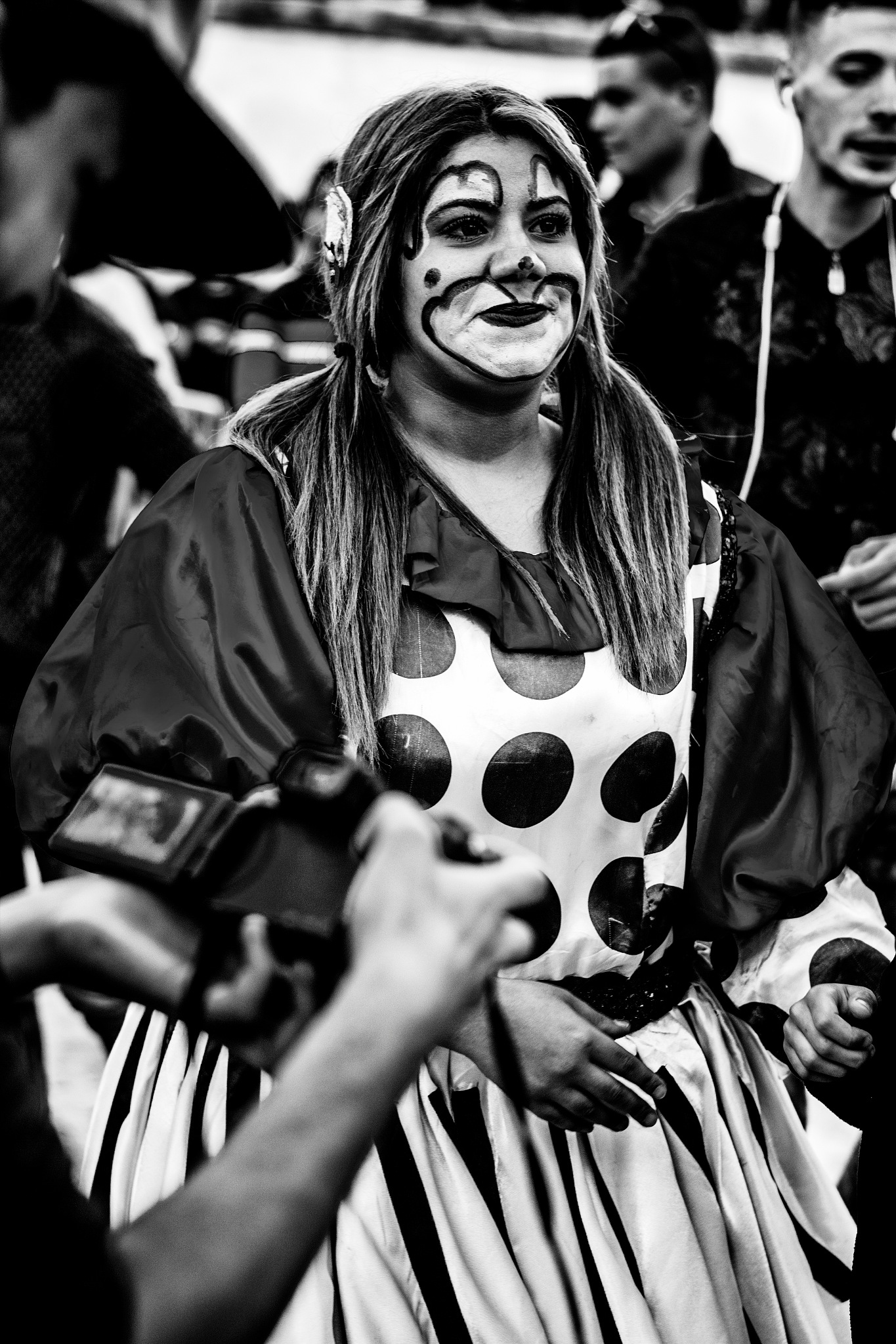 Photo in Black and White #street #streetphotography #blackandwhite #people #memories #stories #light #hope #face #portrait #beautiful #smile #show #event #artistic #algiers