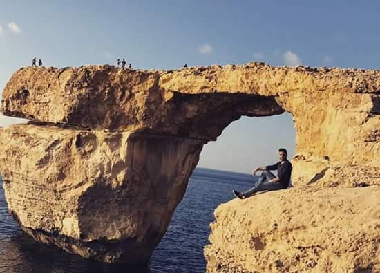 Azure Window.  it's gone forever. . by Mücahit Aksoy