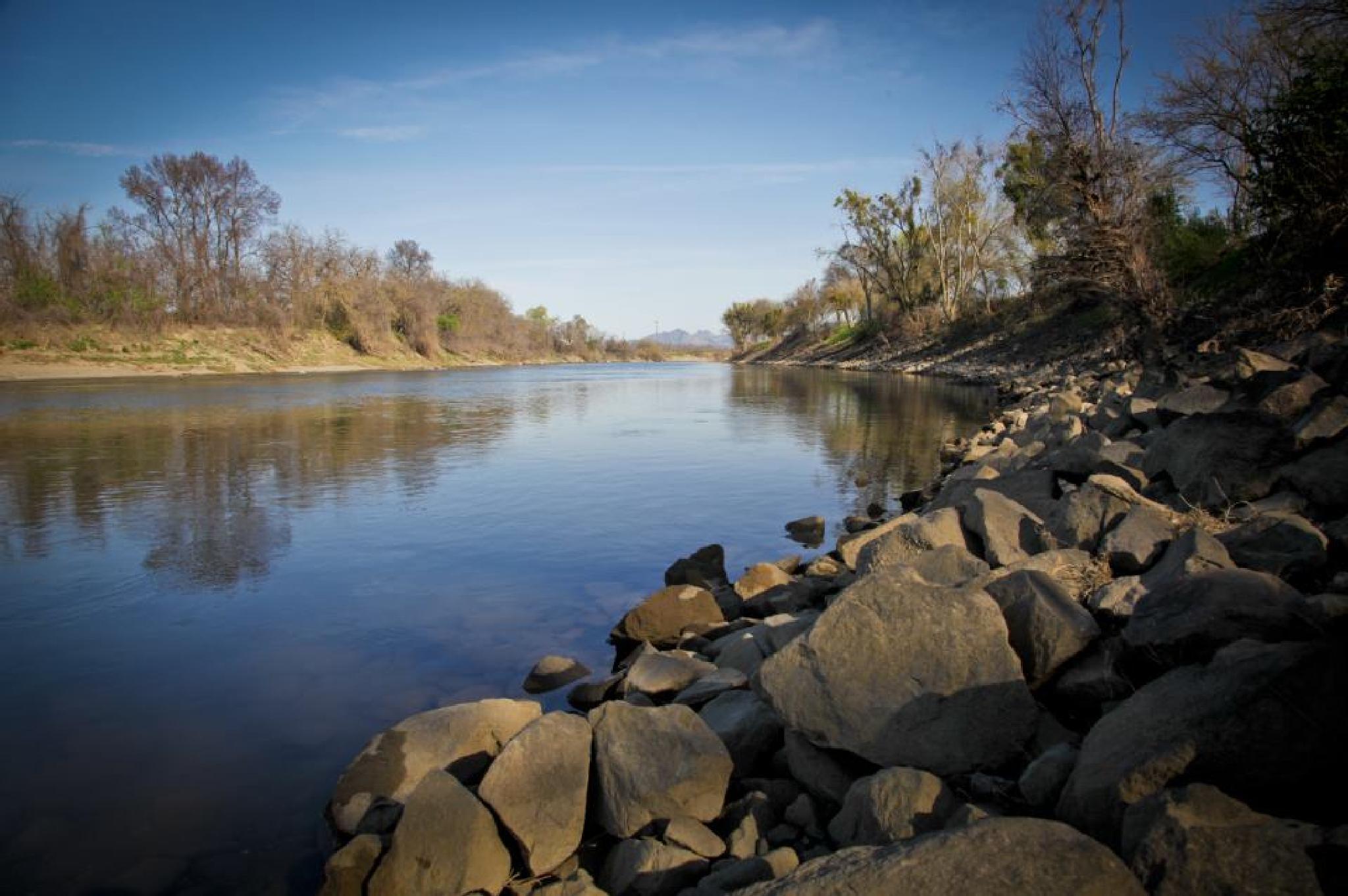 Sacramento River Calm by Elly Nicole