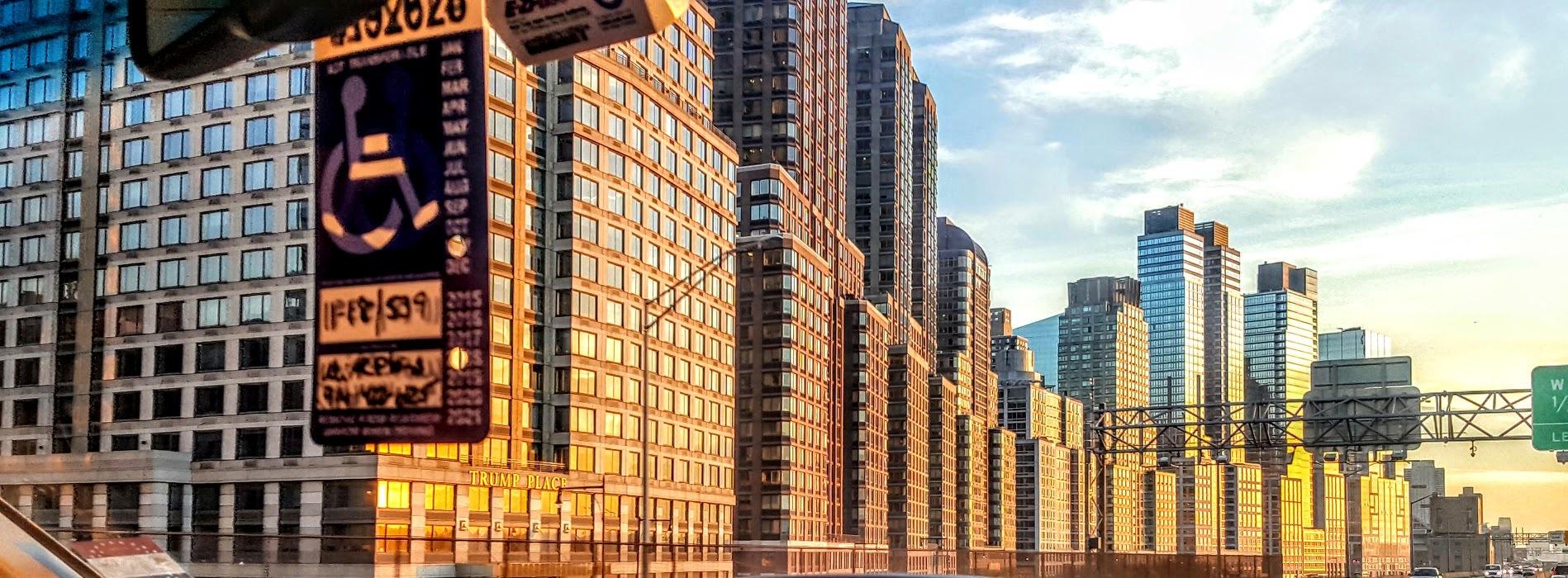 Trump Place - Upper West Side Highway by Matthew Albertell