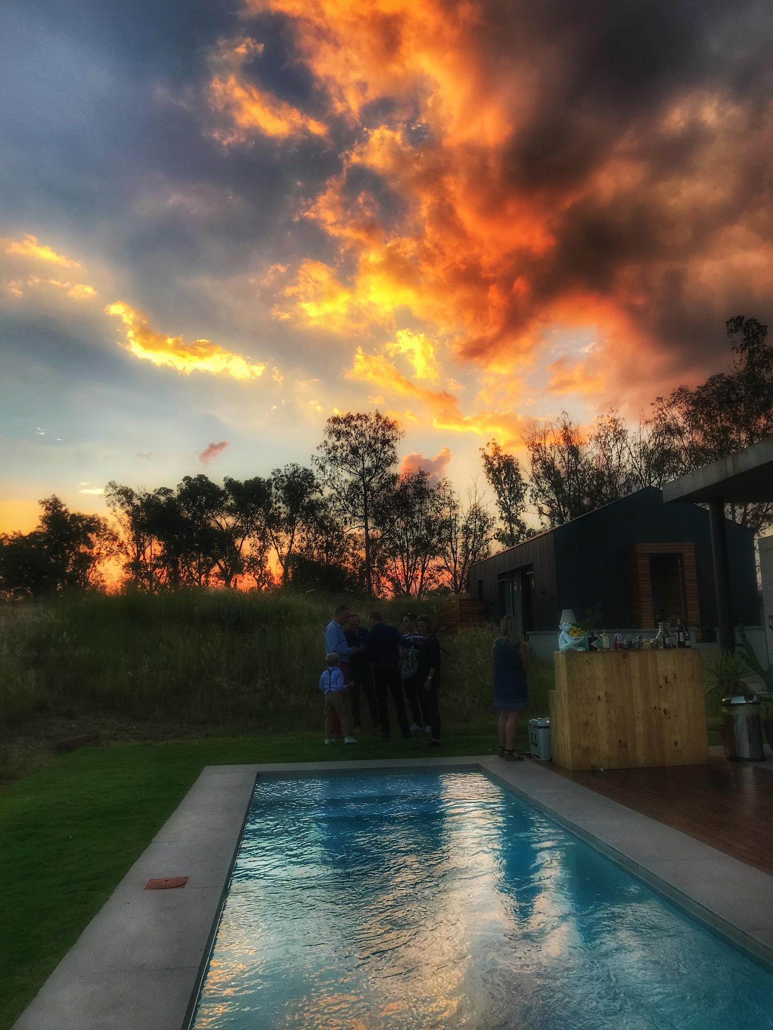 Fire in the Sky by Sherene Hustler