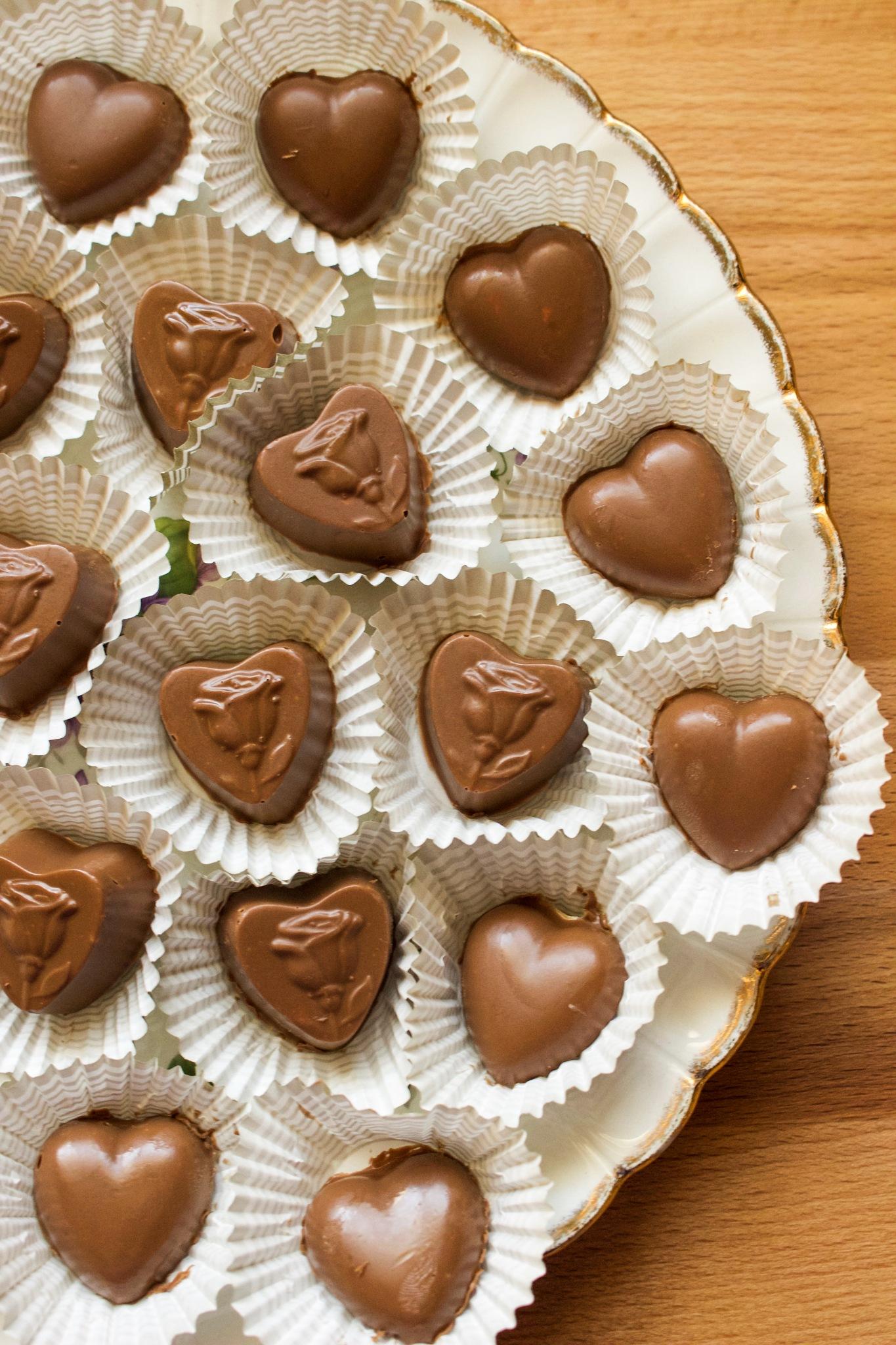 Strawberry Milk Chocolates by Suzie Ridler