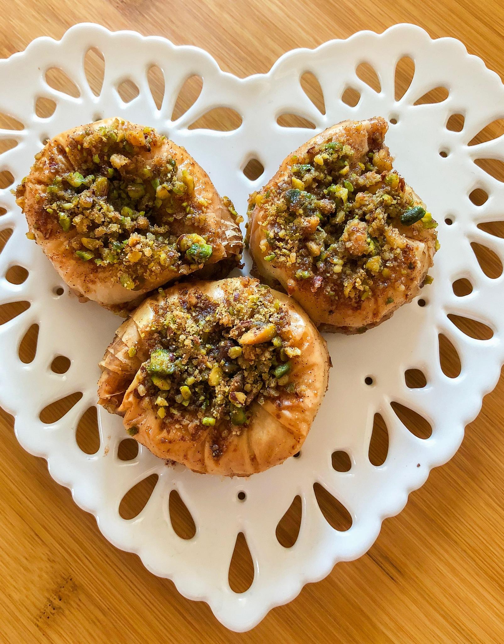 Pistachio Walnut Baklava by Suzie Ridler