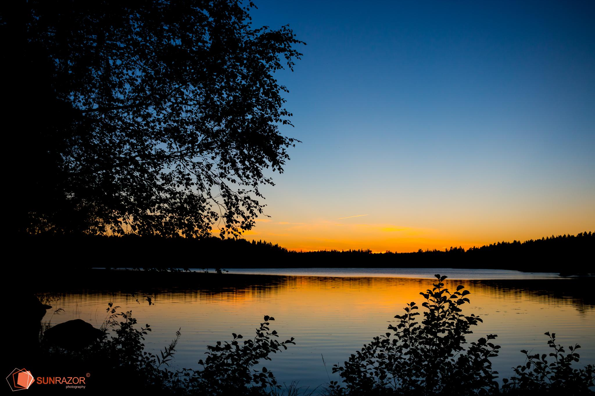 Tranquility Night by Sunrazor