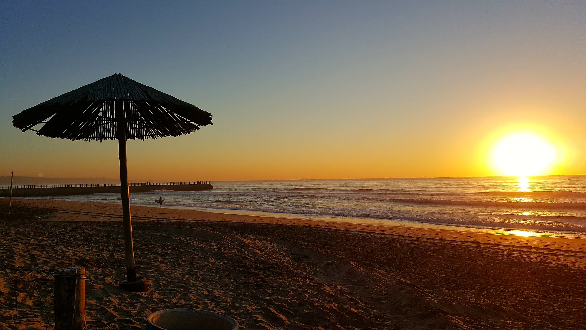 Sunrise over the Indian Ocean by Kasthurie Govender