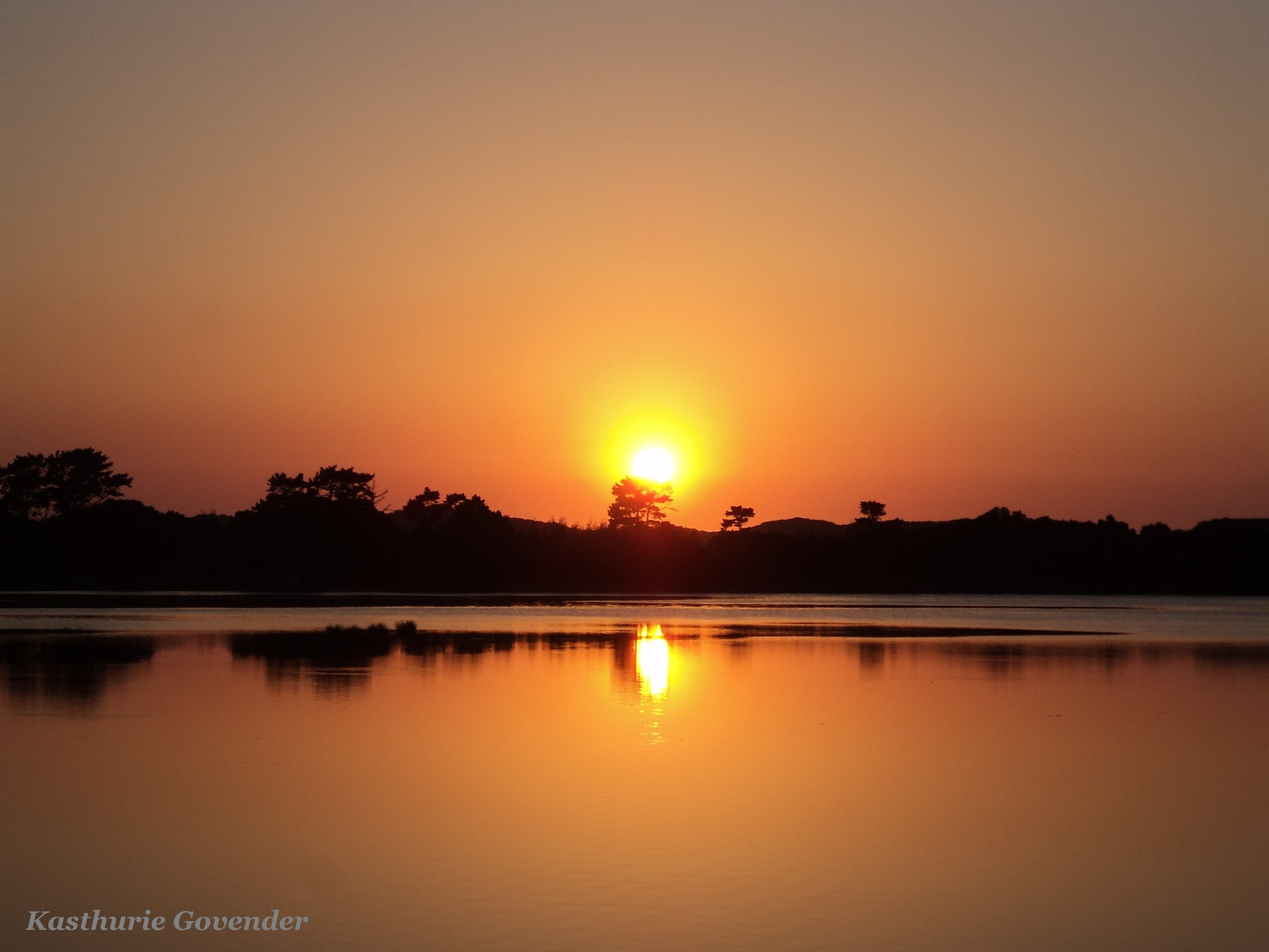 Sunrise & Reflection  by Kasthurie Govender