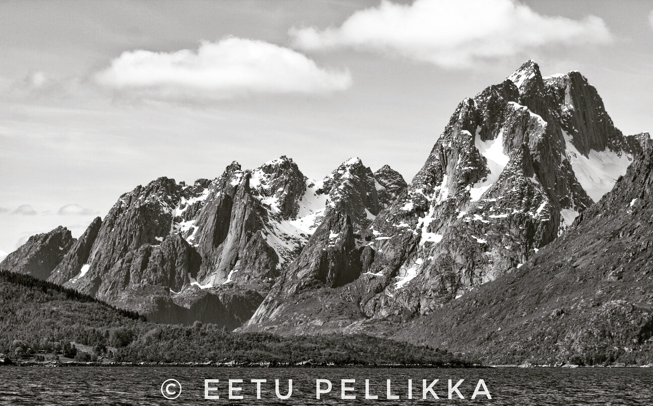 mountains of Lofoten, Norway by Eetu Pellikka