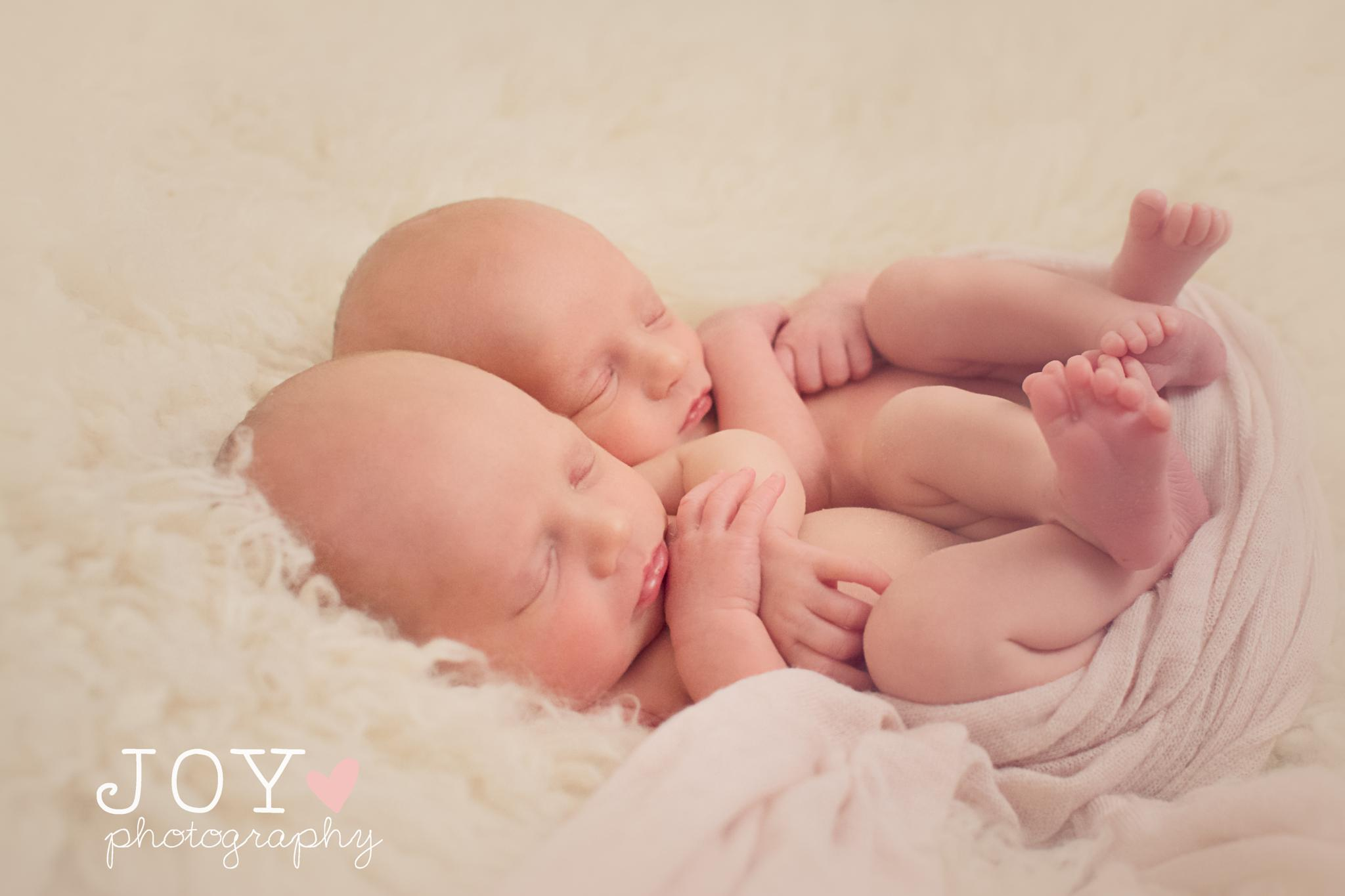 Photo in Portrait #together #twins #girls #babies #twin girls #baby girls