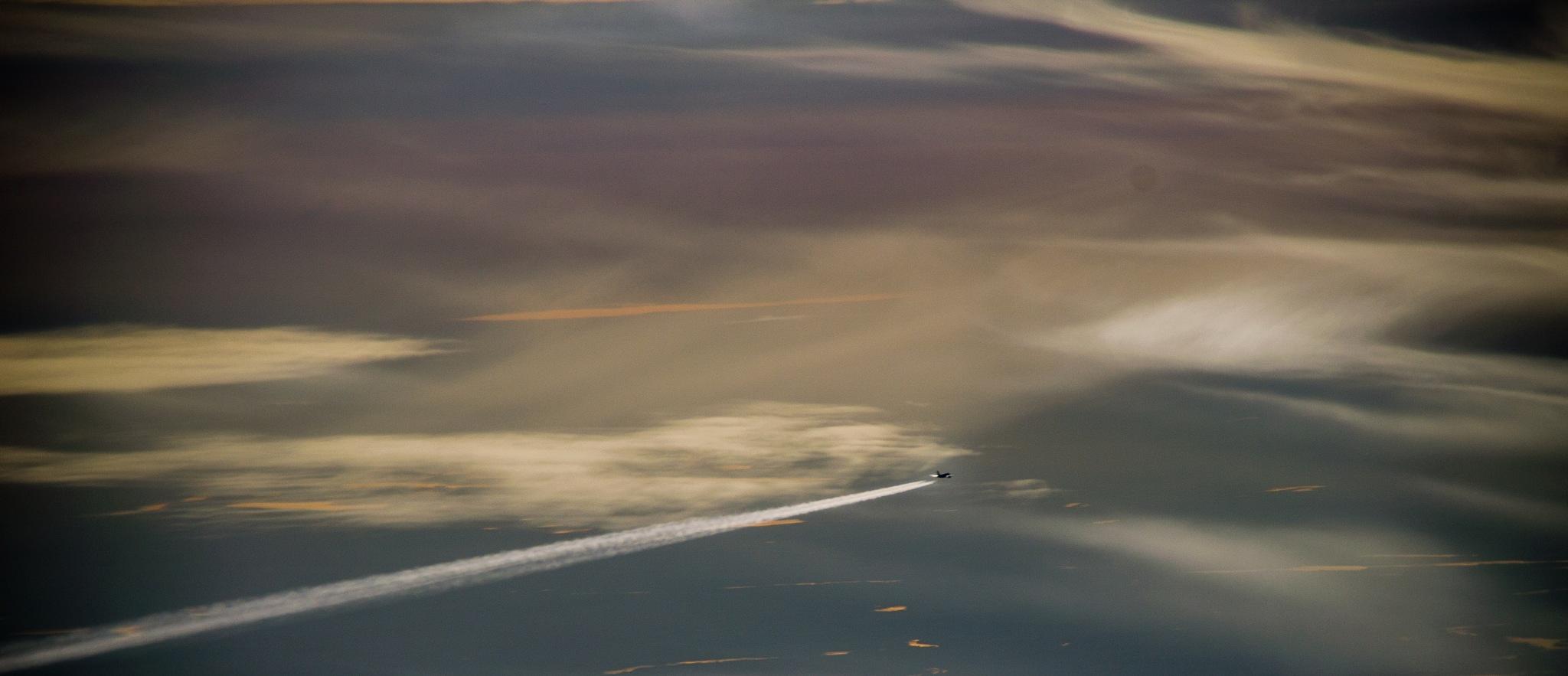 In flight by rytiss50