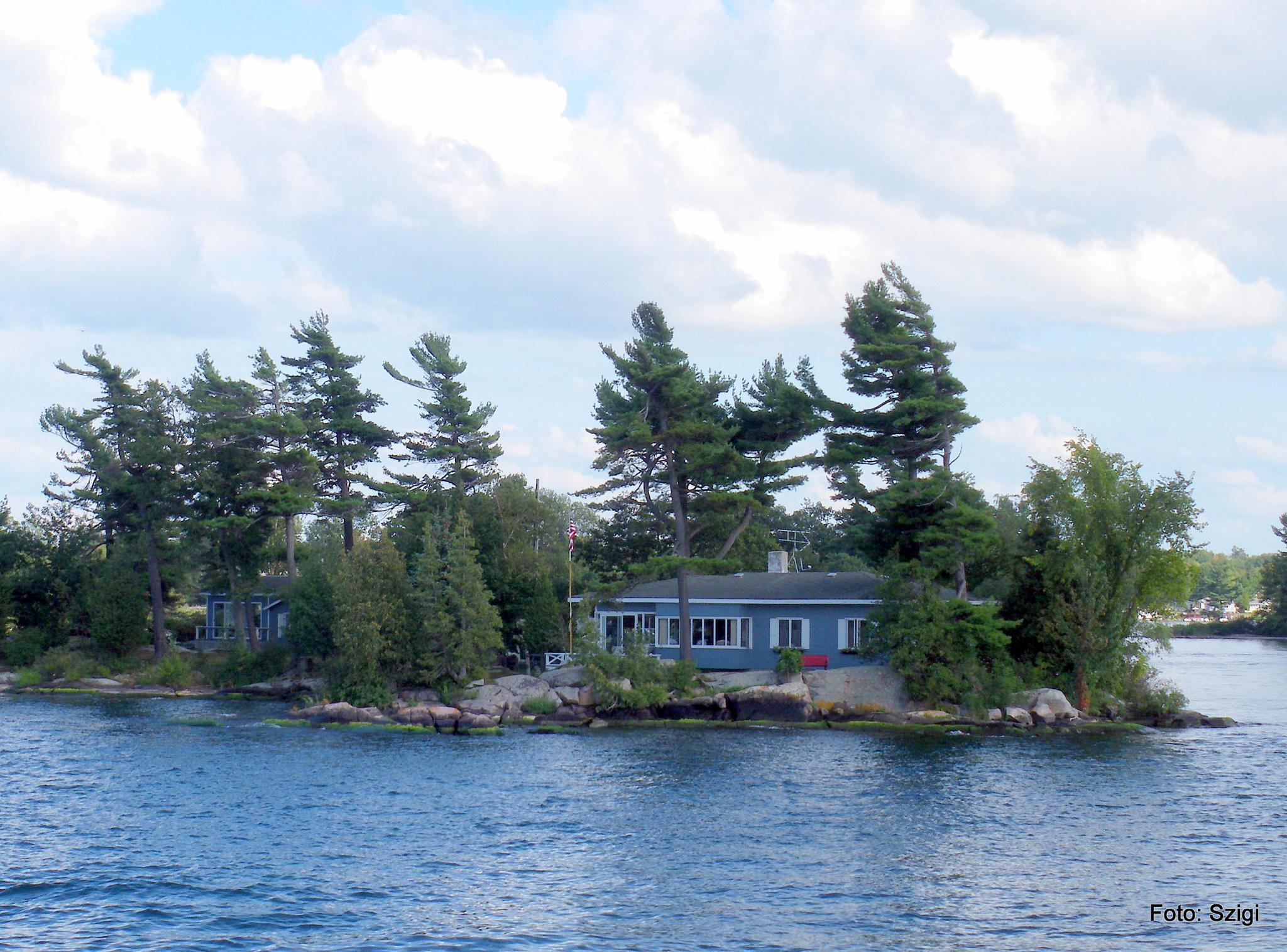 Ganonoque - ezer szigetek - Kanada by Ildiko