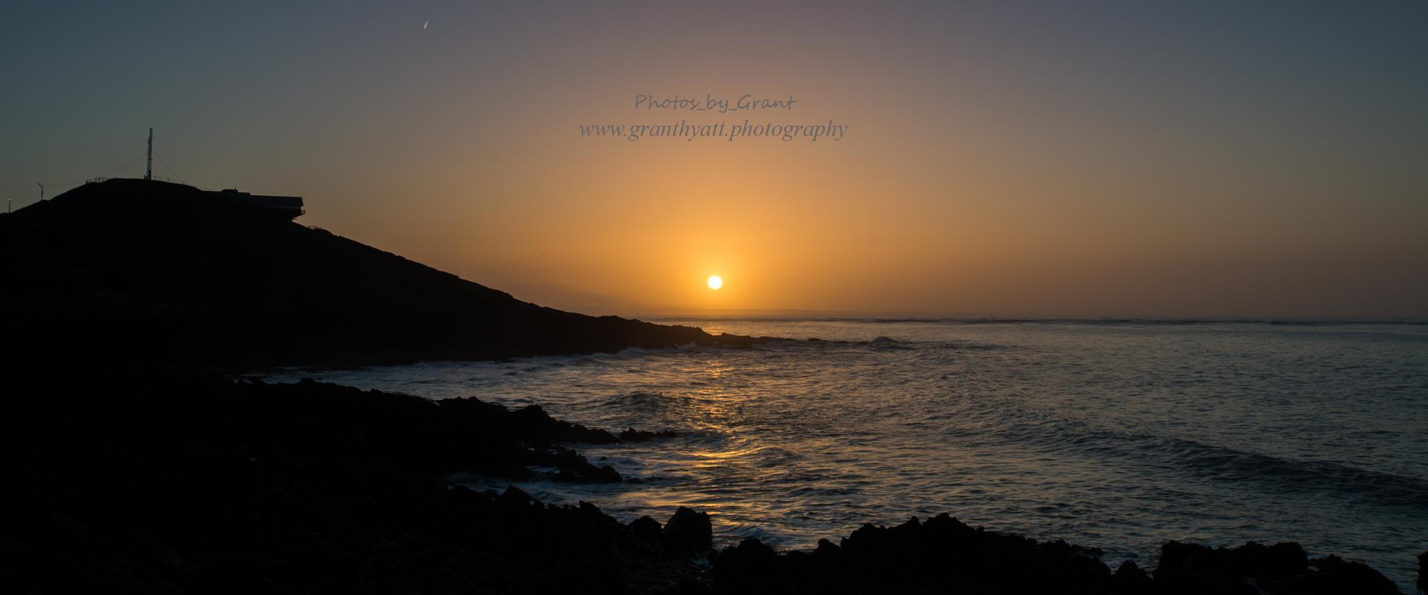 Sunrise on Swansea Bay by Grant Hyatt