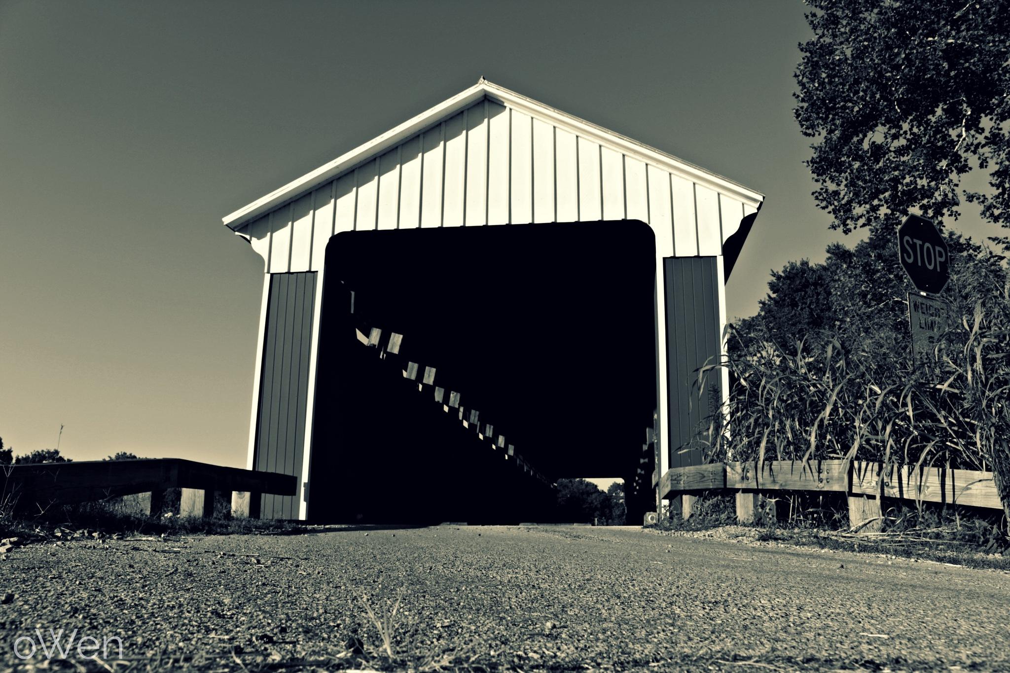 Covered Bridge by Blane Owen
