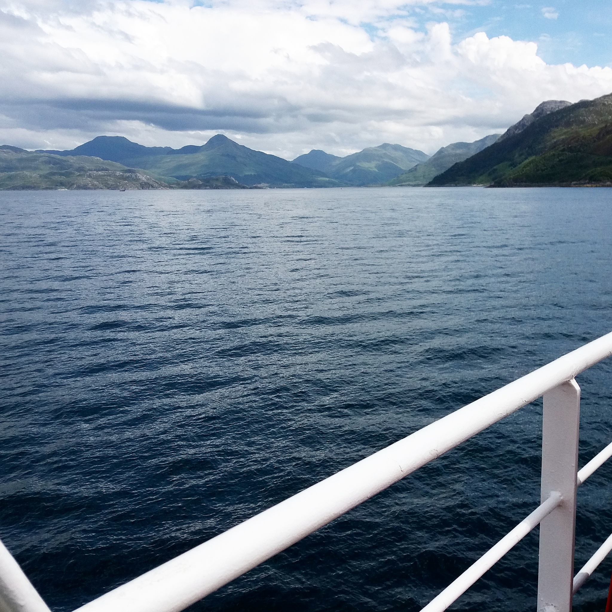 Today in our way from the Isle of Skye to Mallaig by geniesserle
