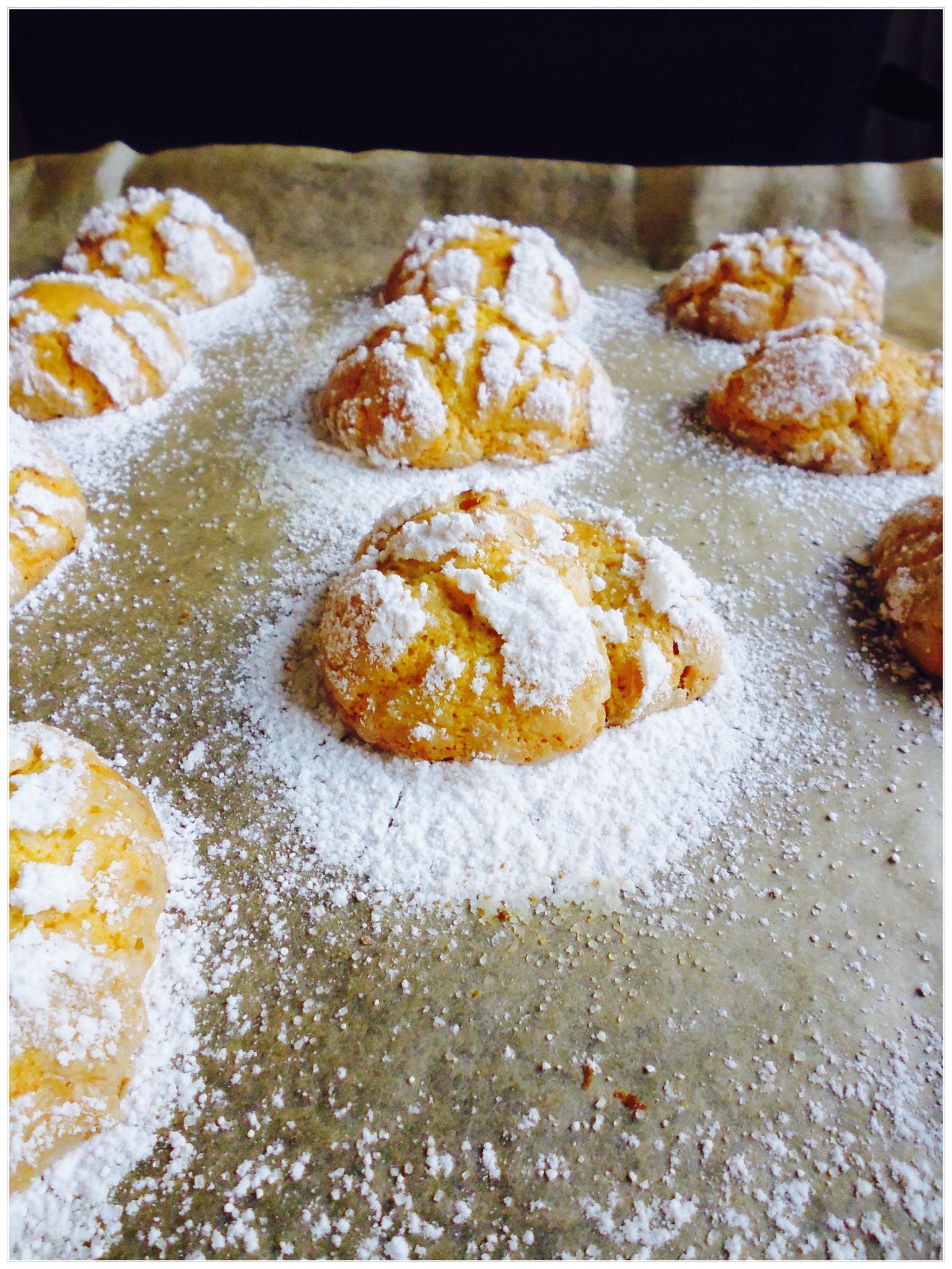 Cookies! Pumpkin crinkle cookies! by geniesserle