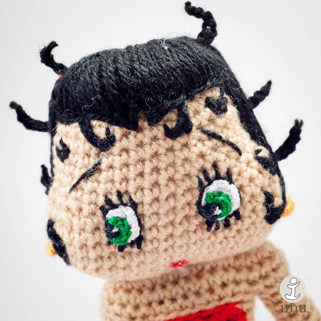 Betty Boop  by Imuamigurumi