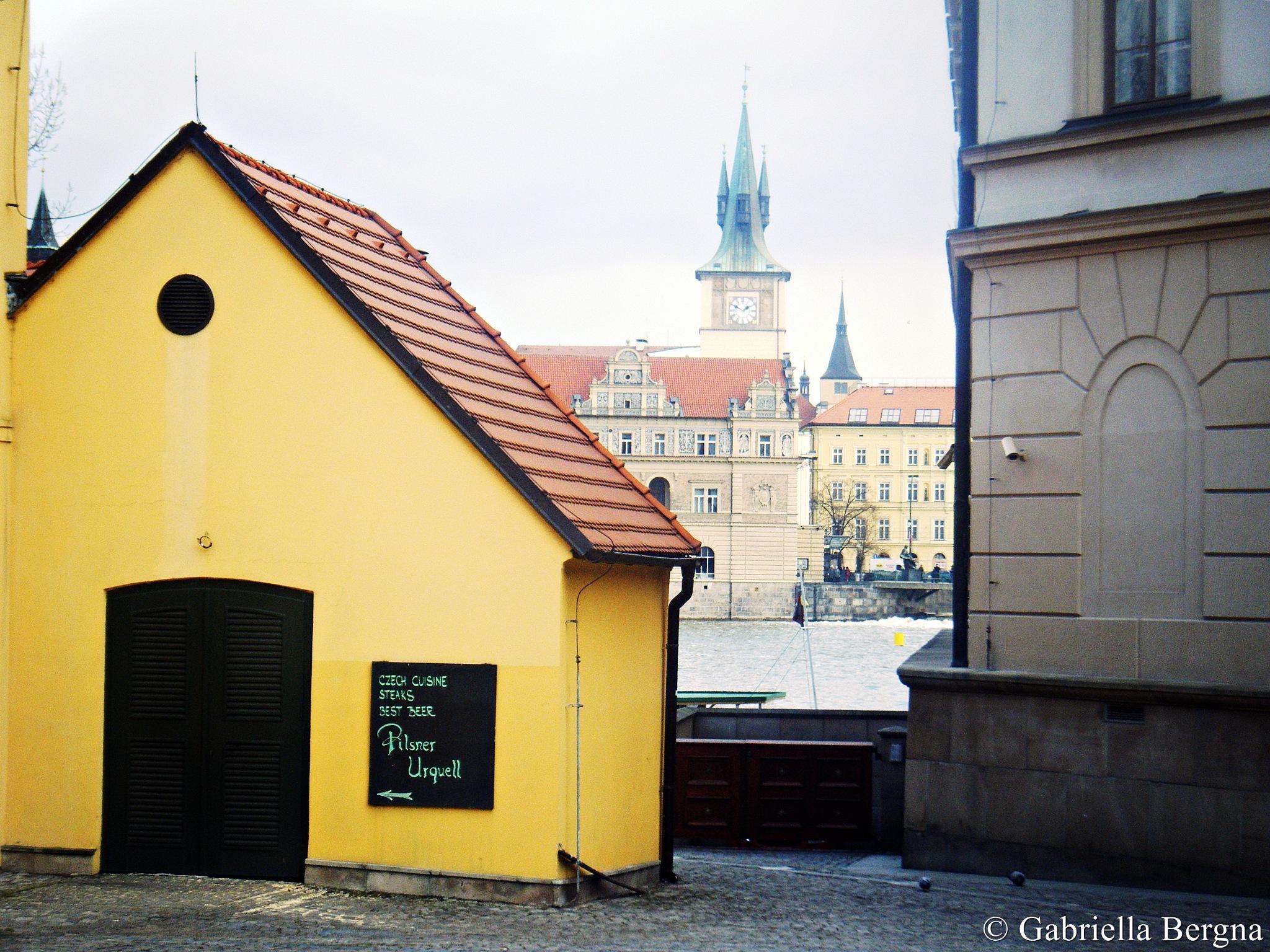 Praha by Gabriella Bergna