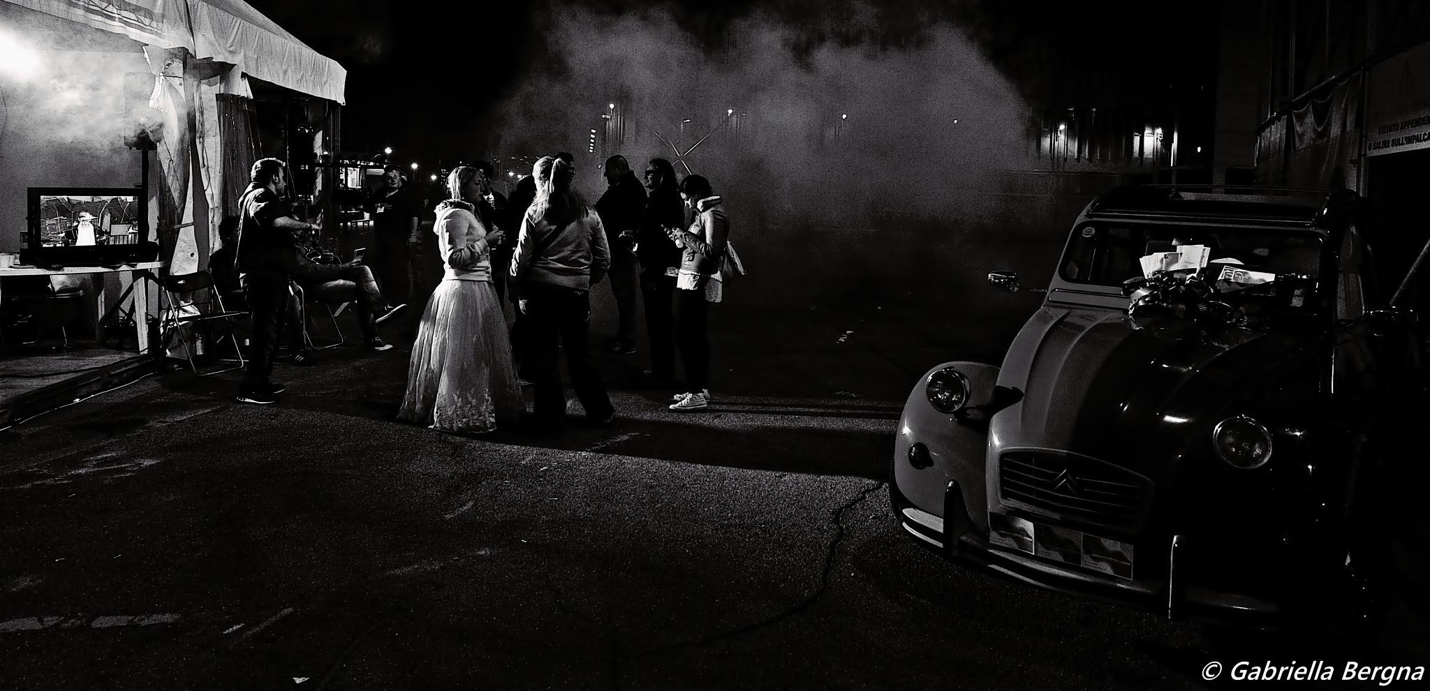 Noir Wedding by Gabriella Bergna