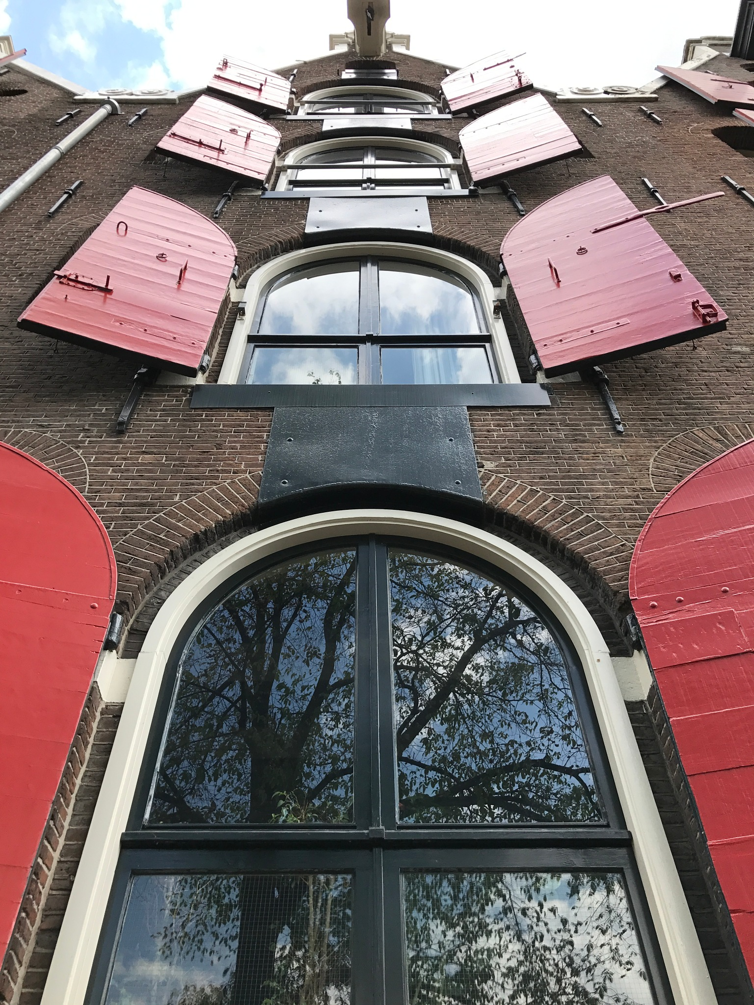 The famous window building in Amsterdam! by Adrita Ghosh