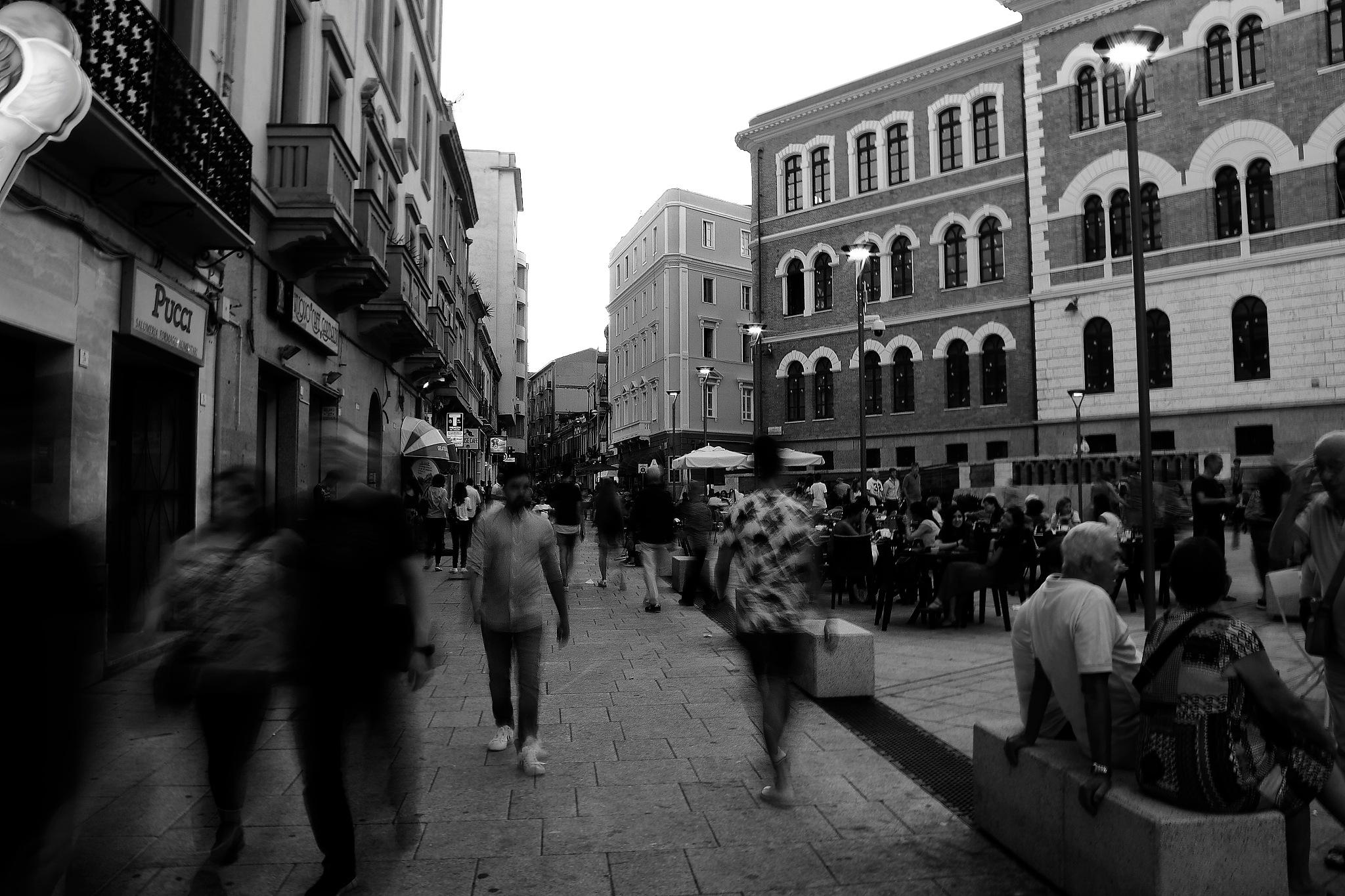 In the square by Antonello Marceddu
