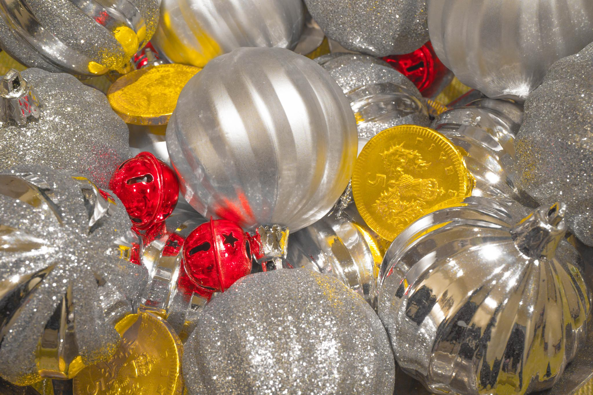 Christmas baubles by AJH
