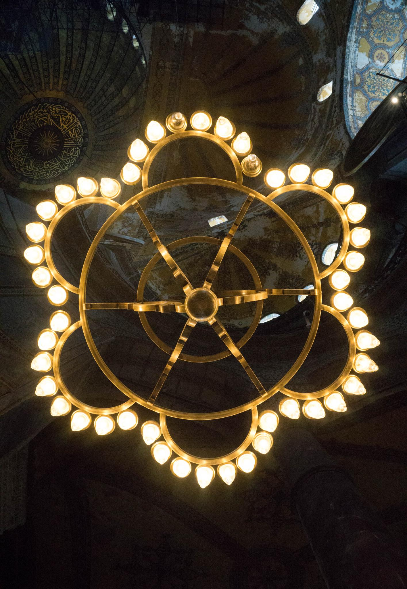 Hagia Sophia lighting by AJH