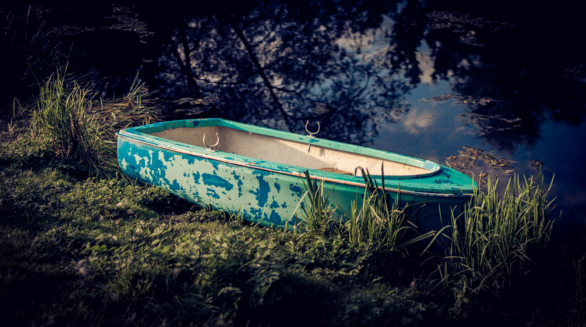 Blue Boat by MarkCon