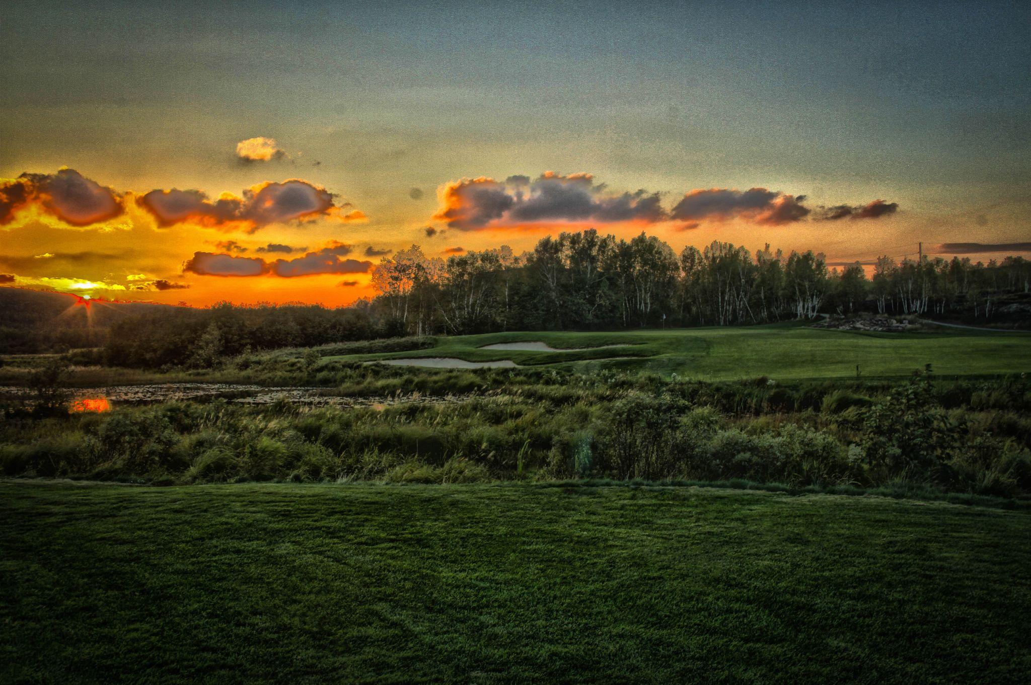 Evening Round by Matthew Barton