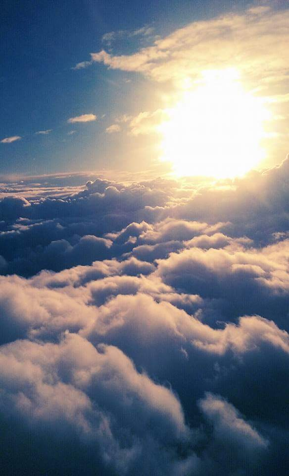 above the clouds by Stacey Jones