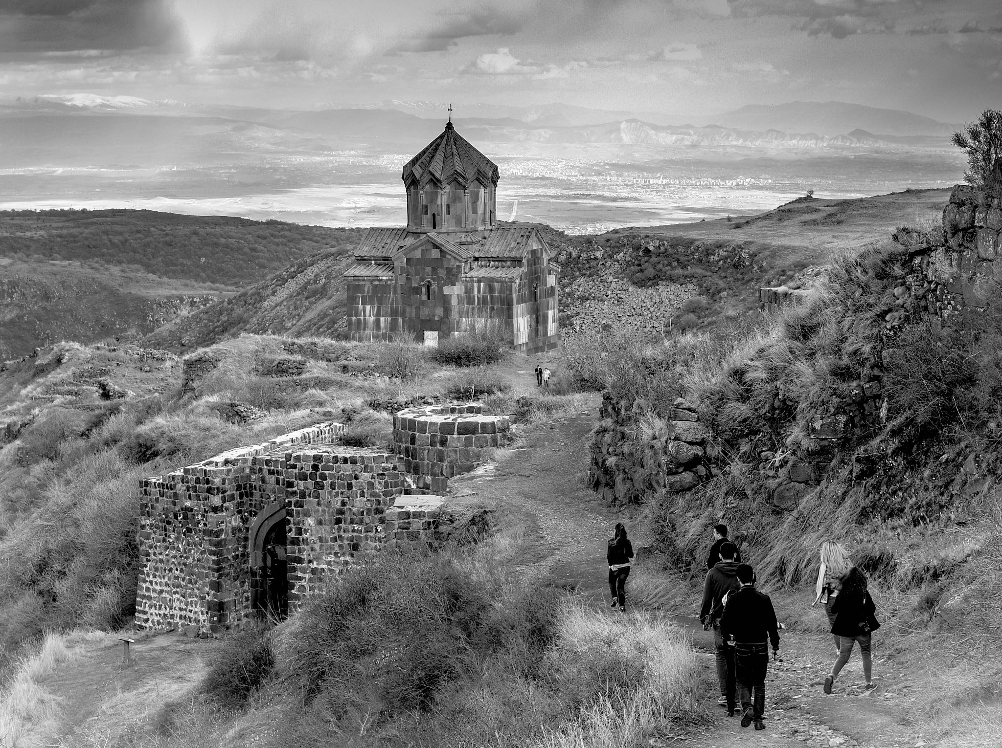 FORTRESS AMBERD, ARMENIA by varderesyan