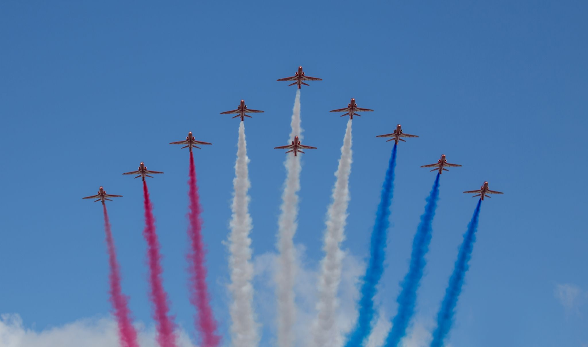 Red Arrows by Chris Taylor