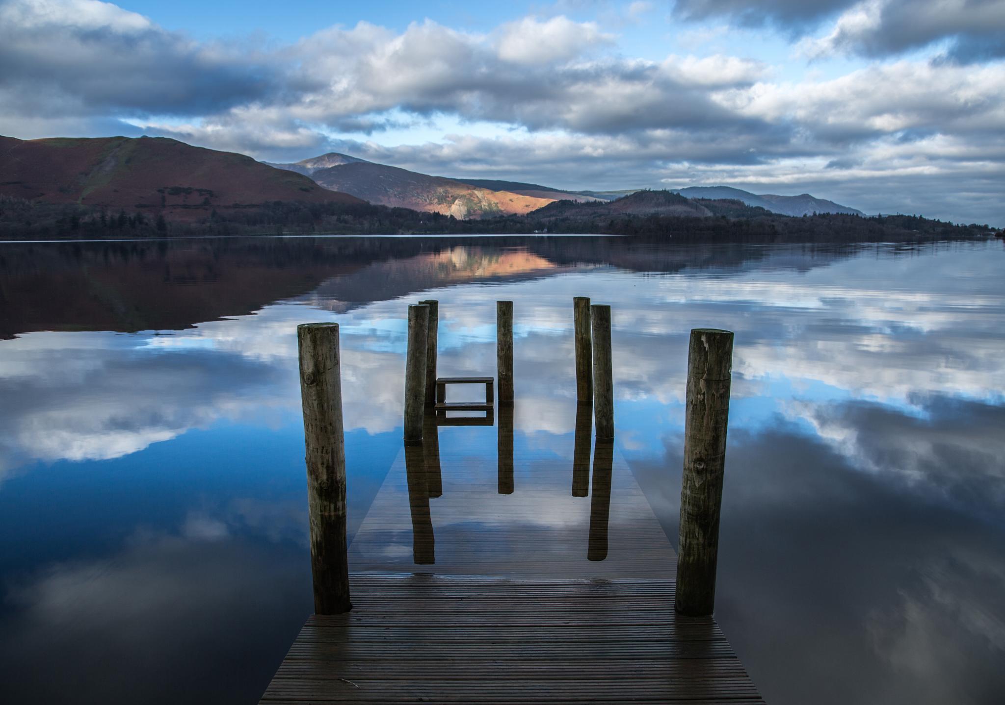 Derwent Water Lake District by Chris Taylor