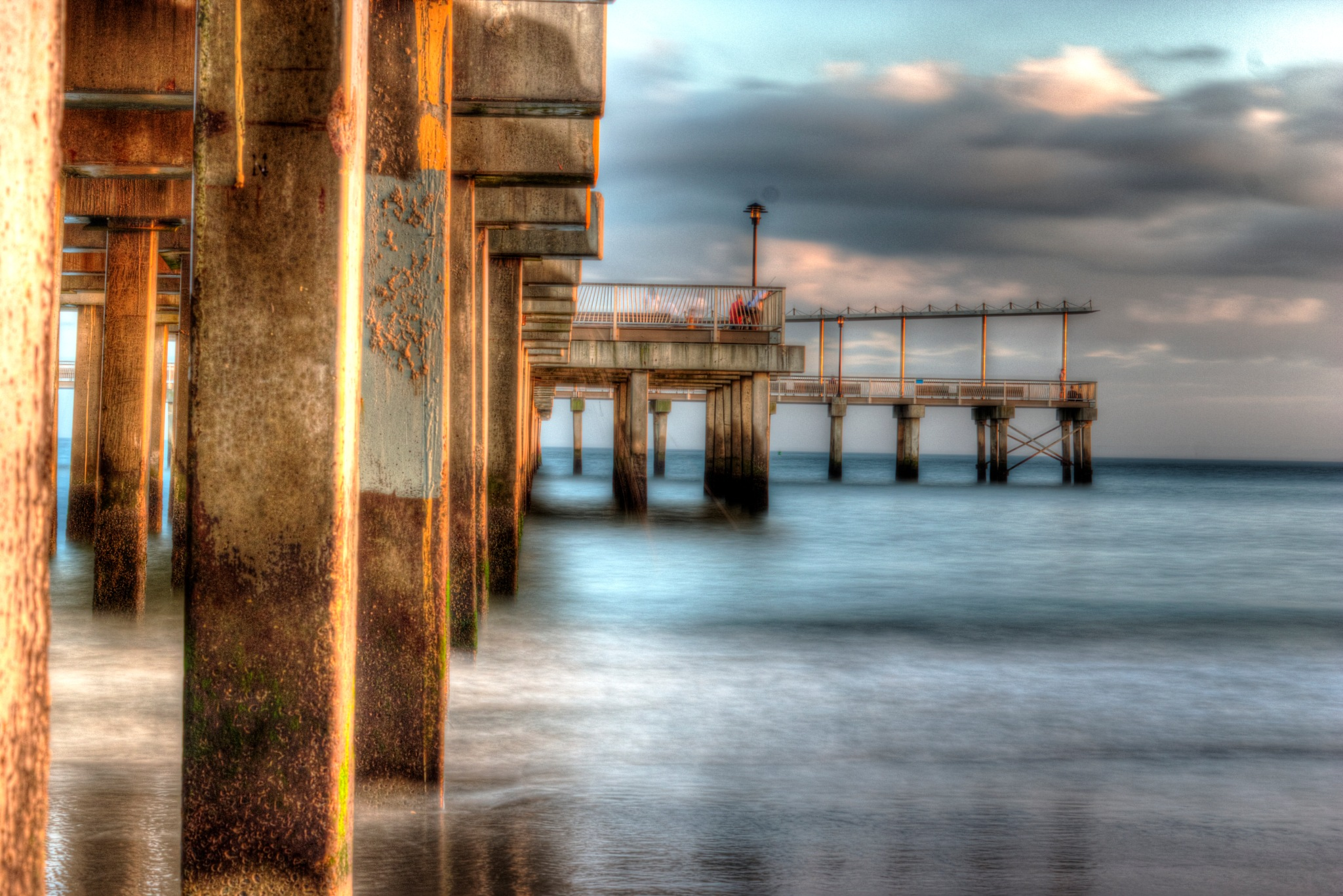 Coney Pier by Carol Montgomery