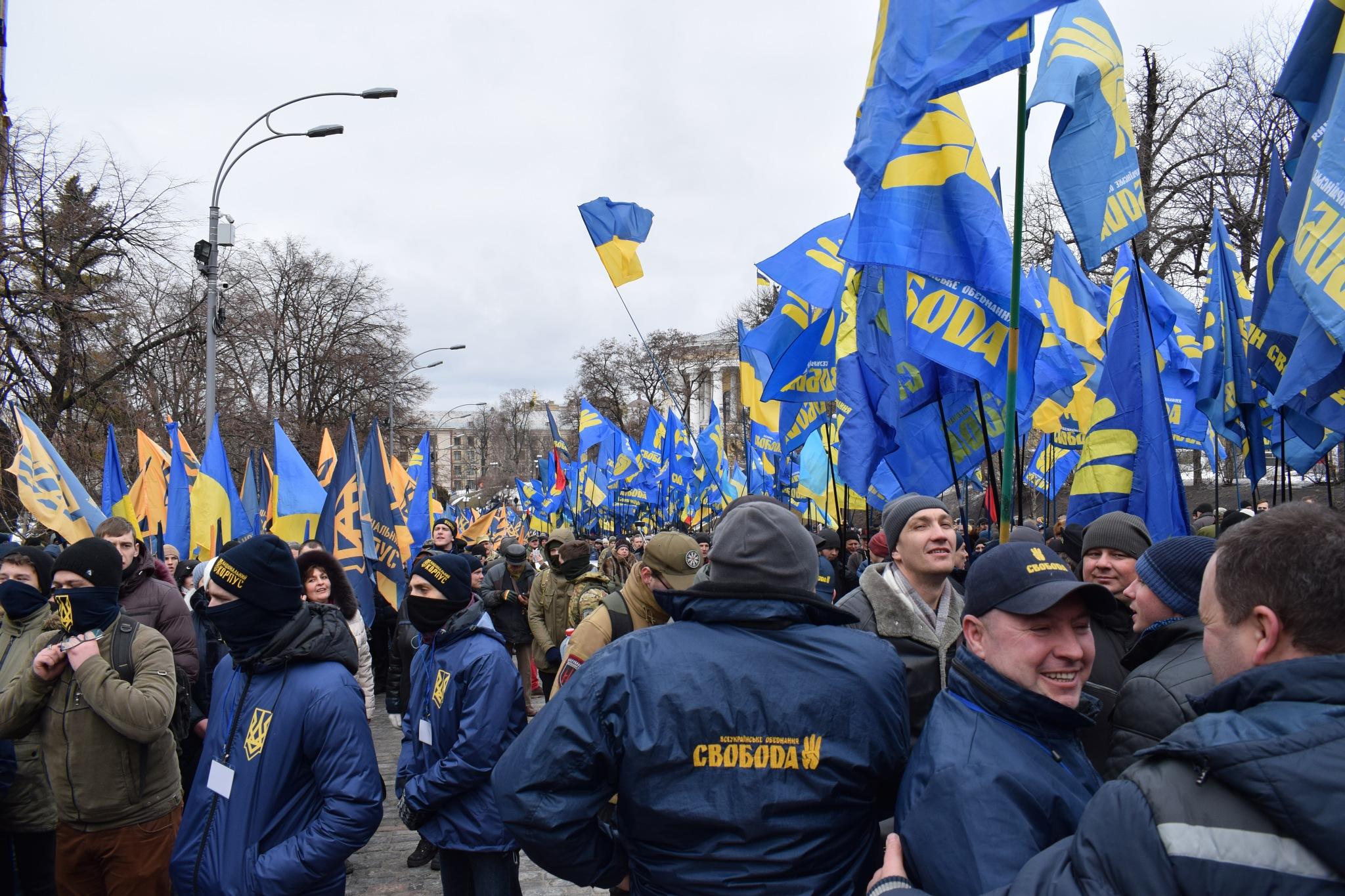 Radicals on the move by Ukraine_Eye
