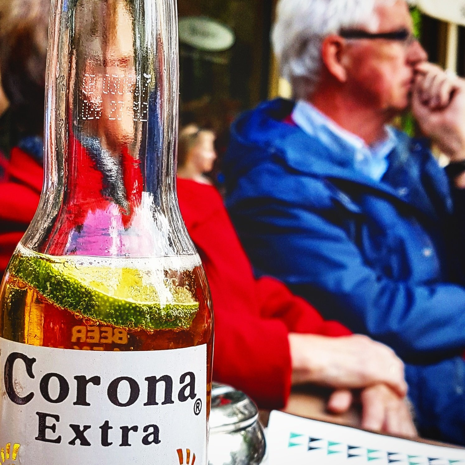 Just a Corona!  by Orhan Polat Projectmanagement