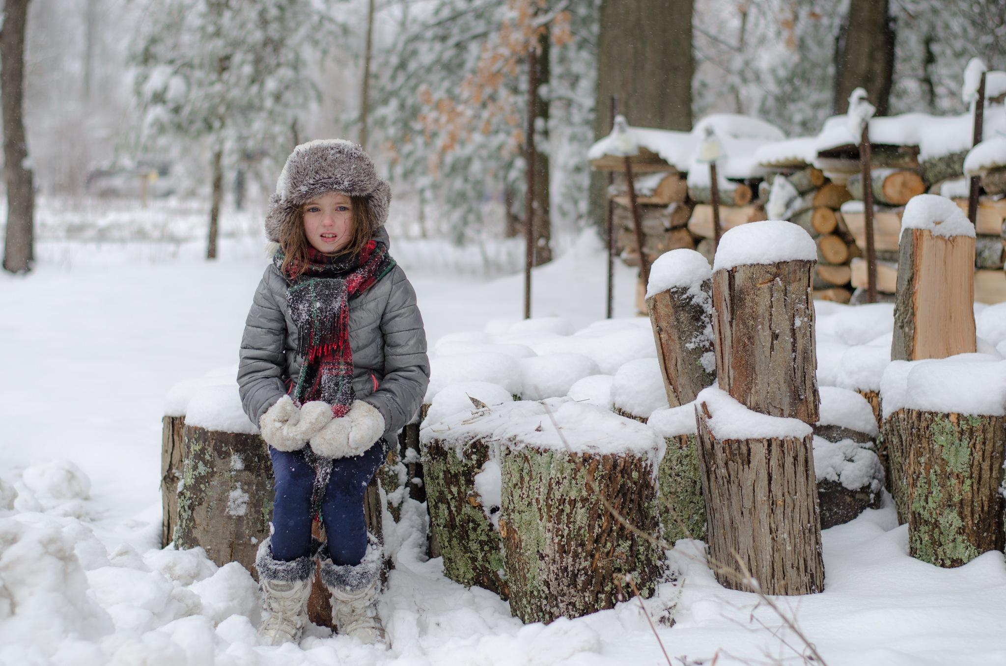 Cold winter by Evgeniia Demi