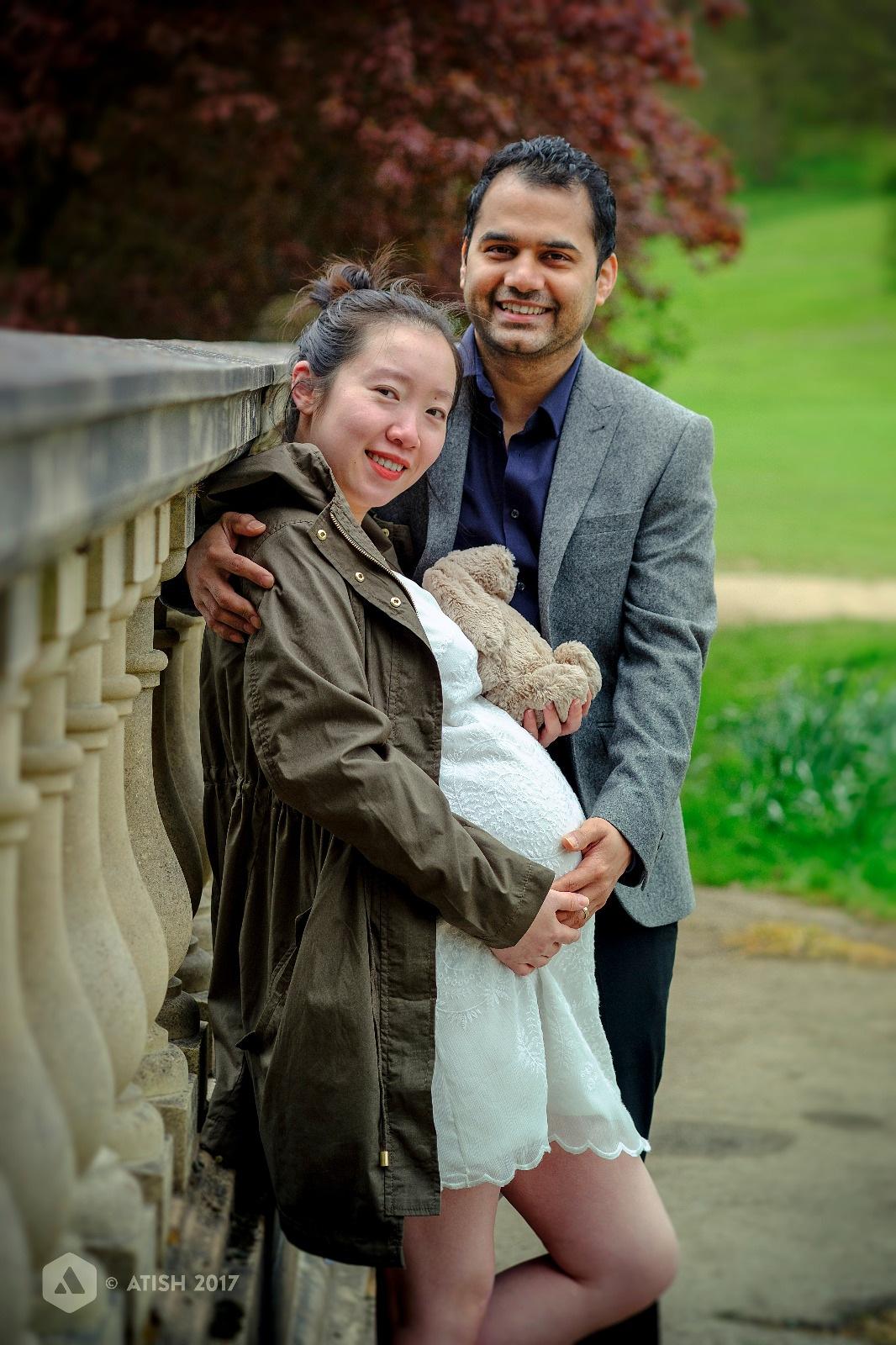 New parents by Atish Chitrakar
