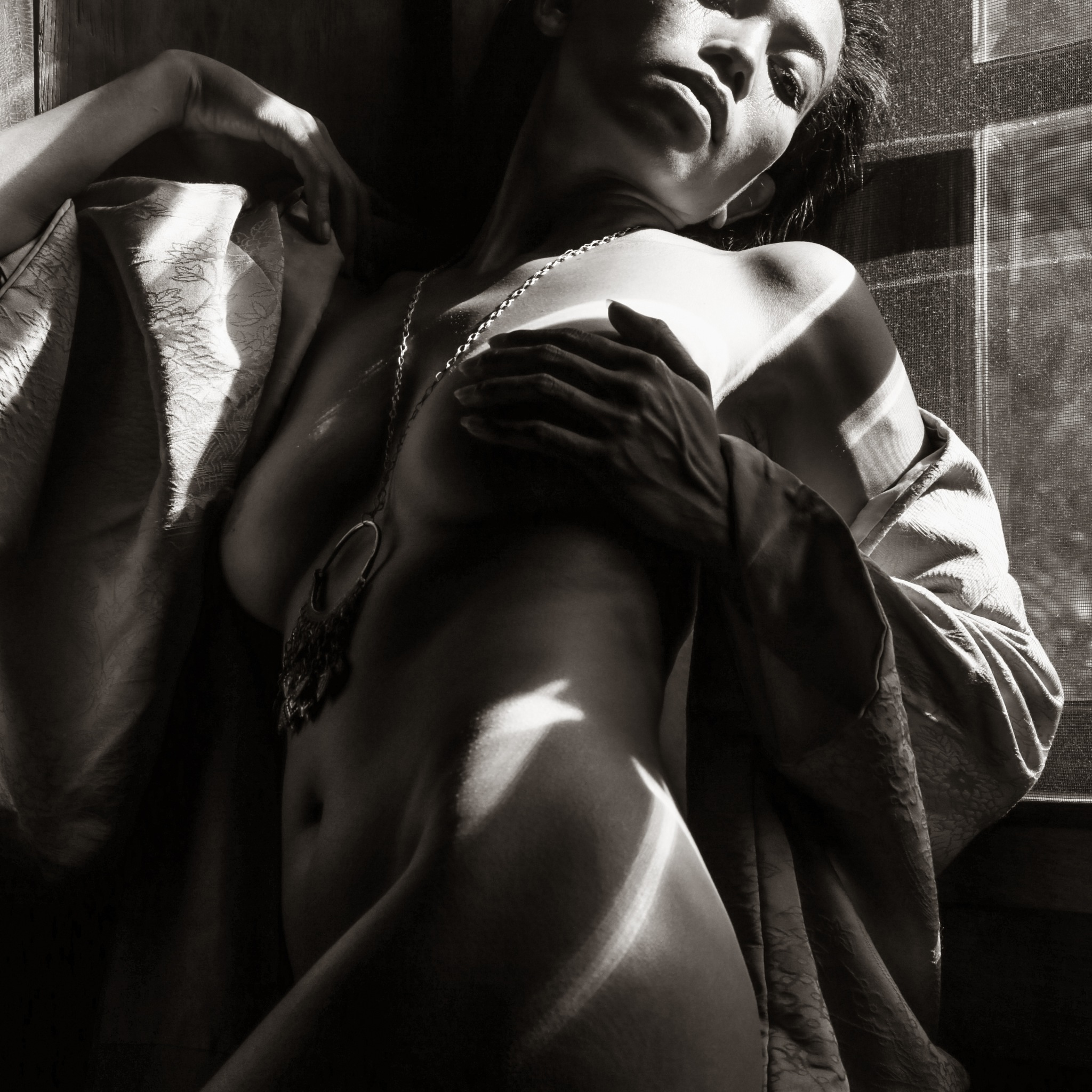 Photo in Black and White #bw #implied #nude